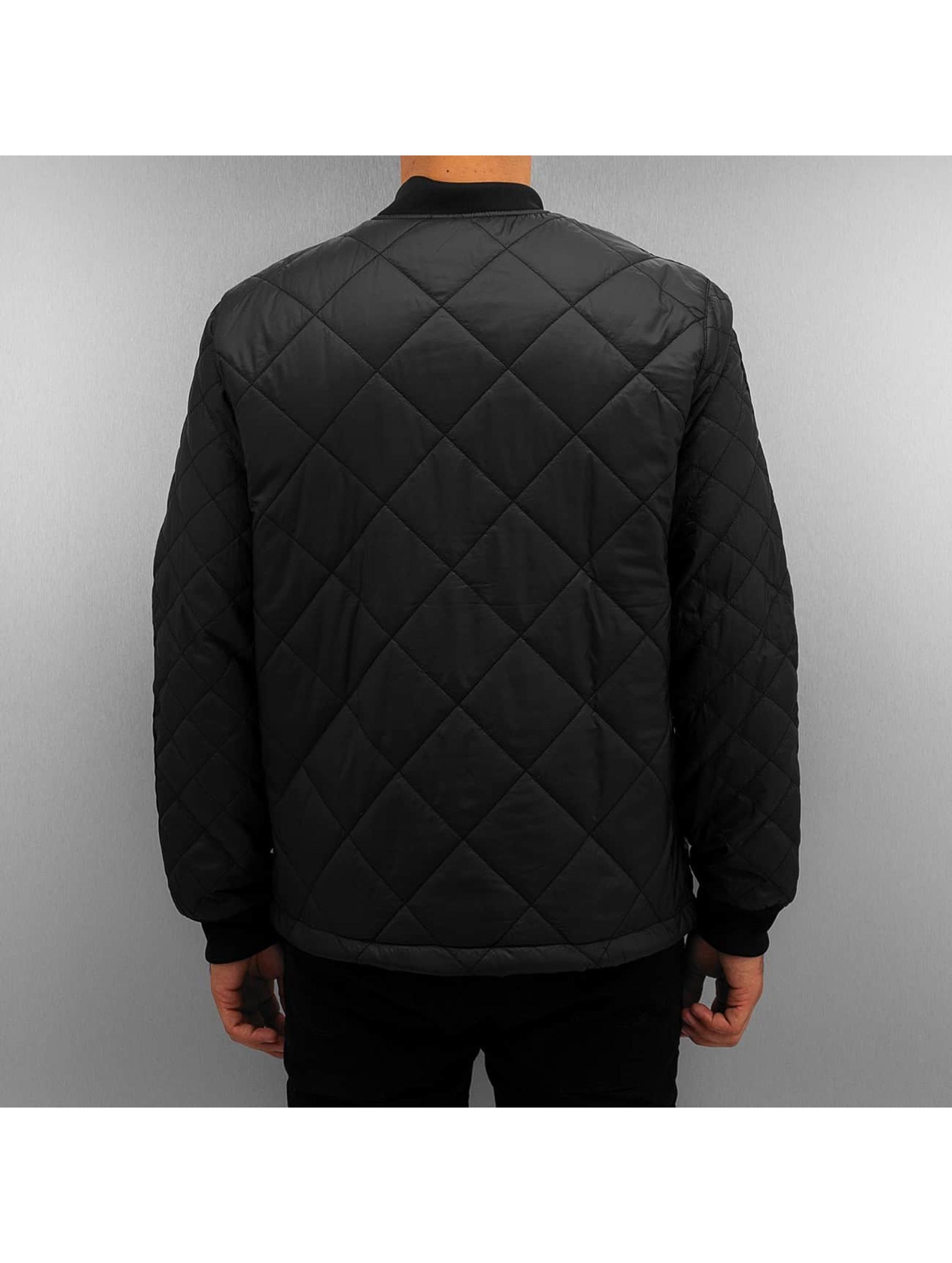 adidas Демисезонная куртка Quilted Superstar черный