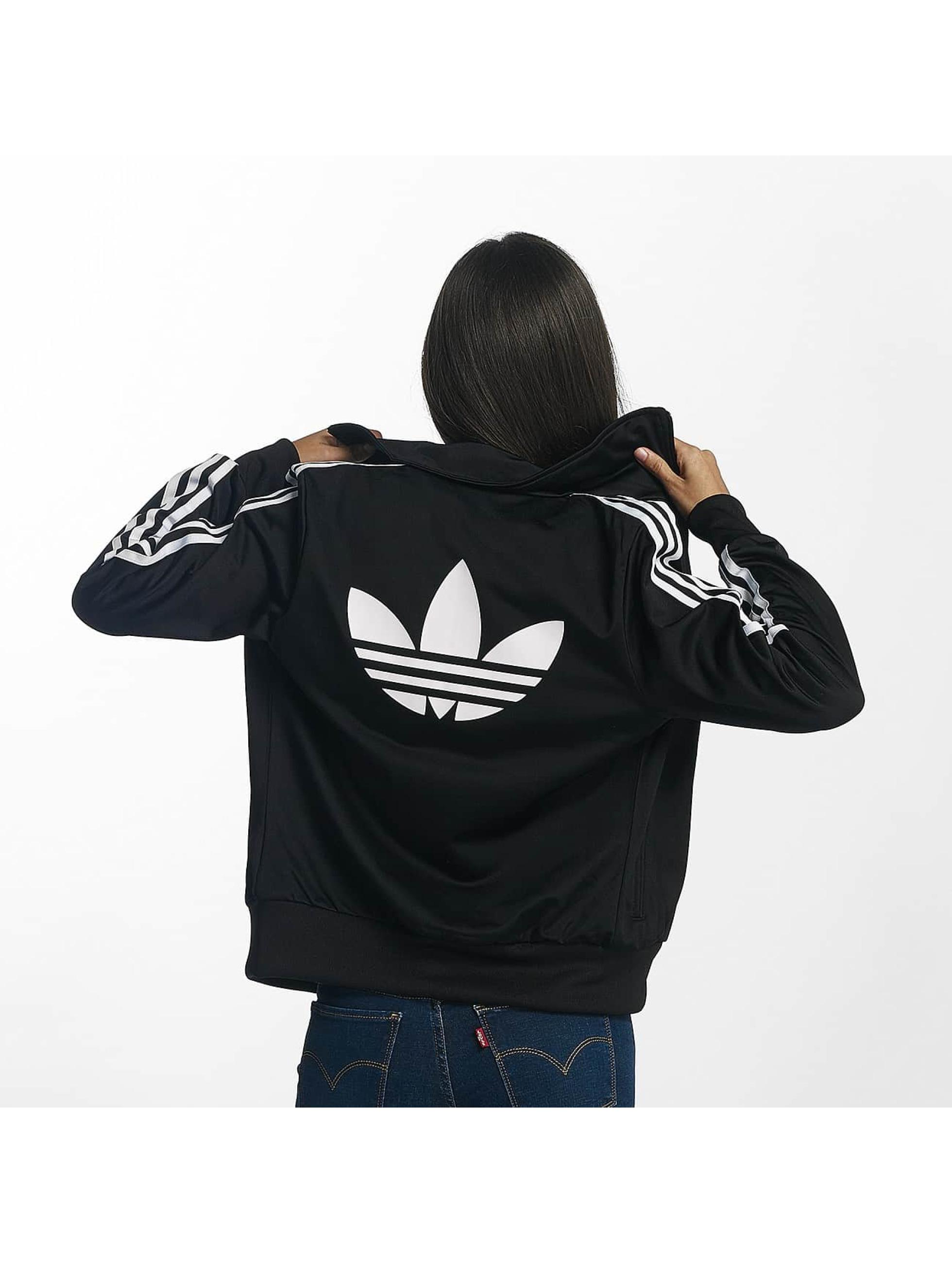 adidas Демисезонная куртка Firebird Track Top черный