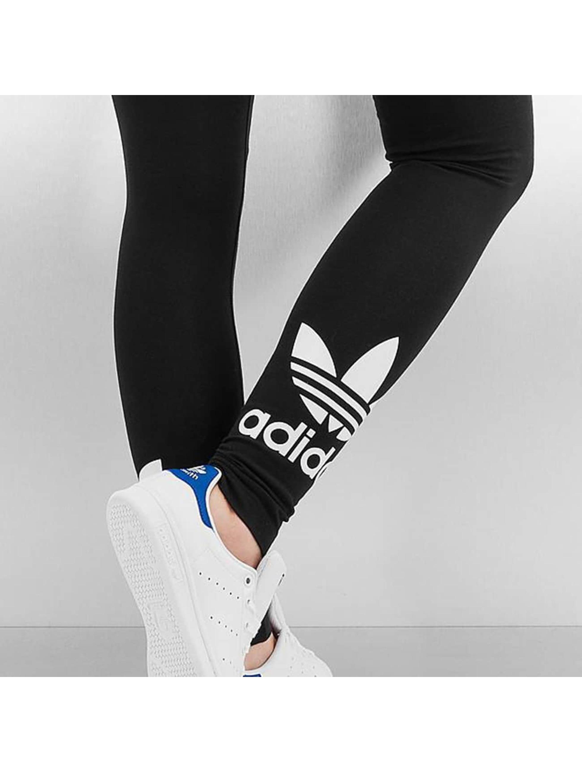 adidas Леггинсы Trefoil черный