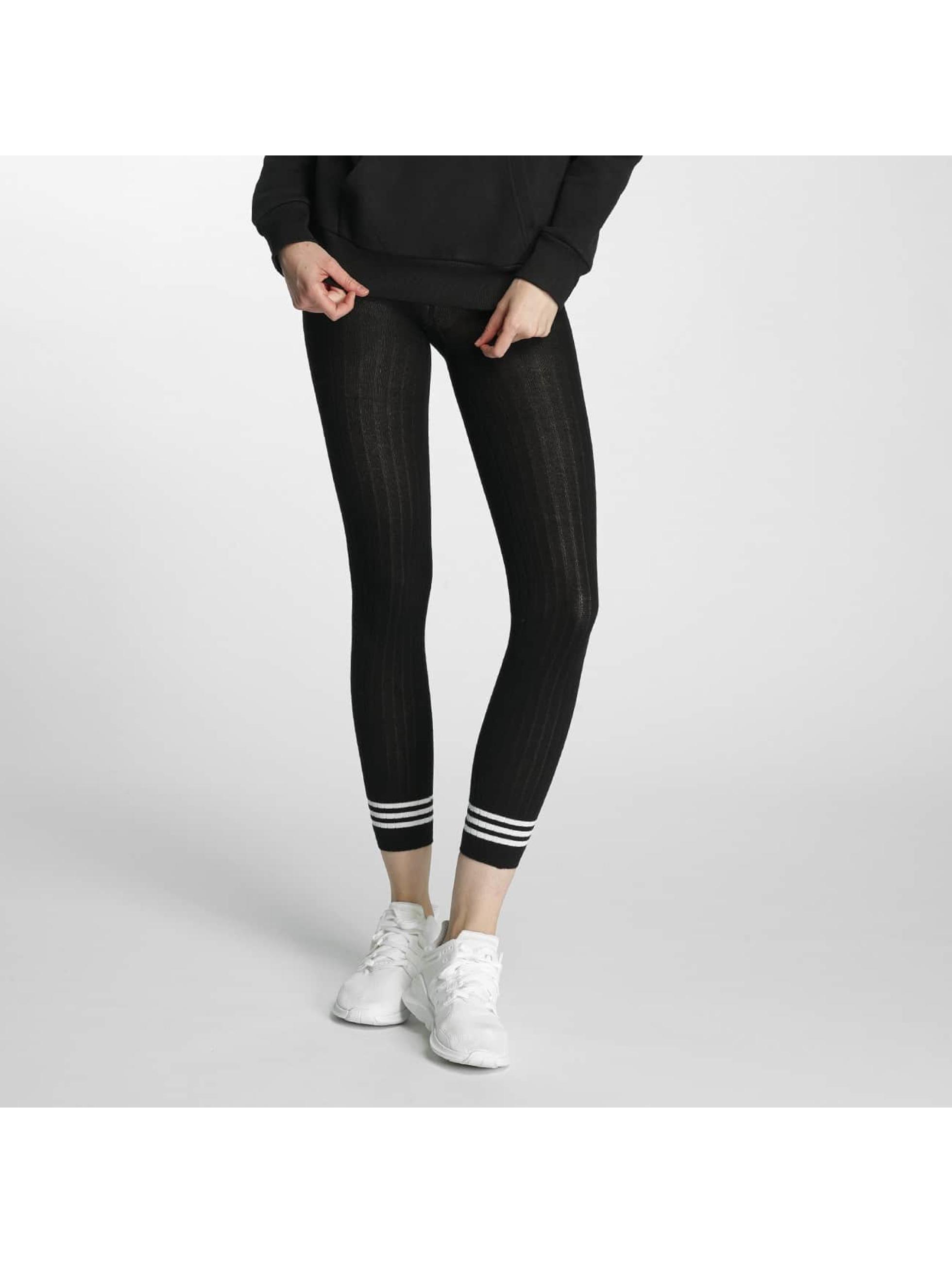 adidas Леггинсы 3 Stripes черный