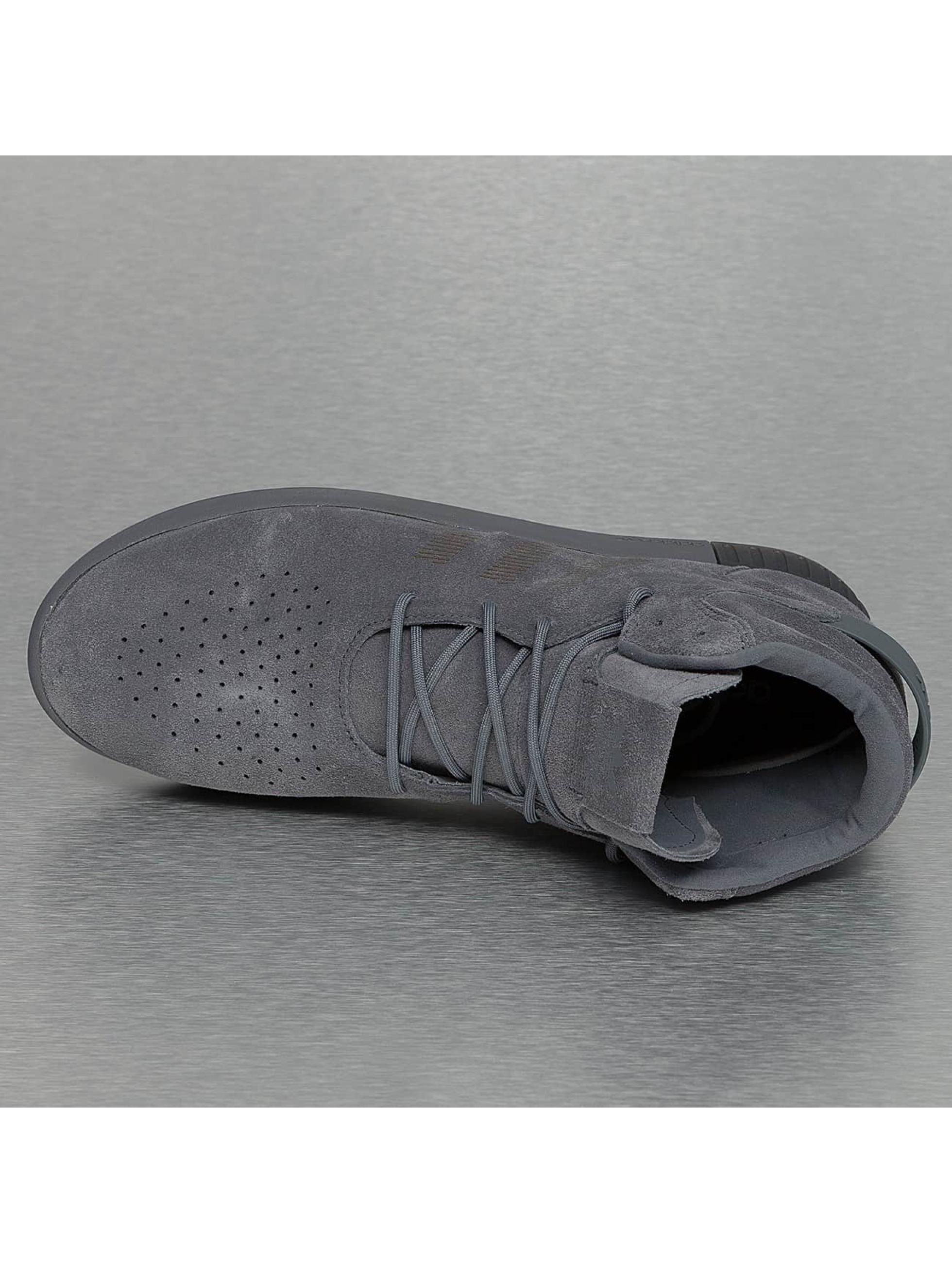 adidas Сникеры Tubular Invader серый