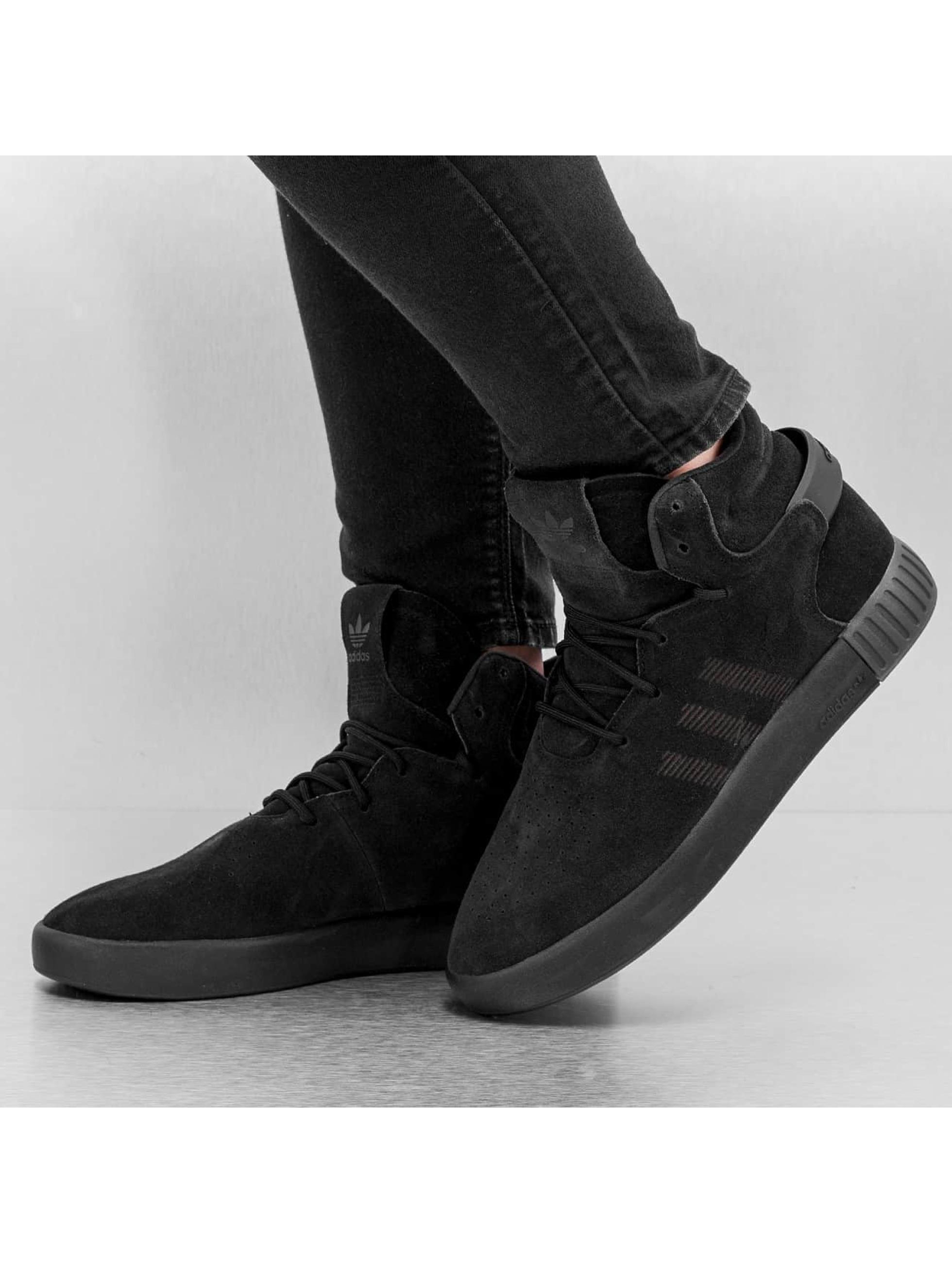 adidas Сникеры Tubular Invader черный