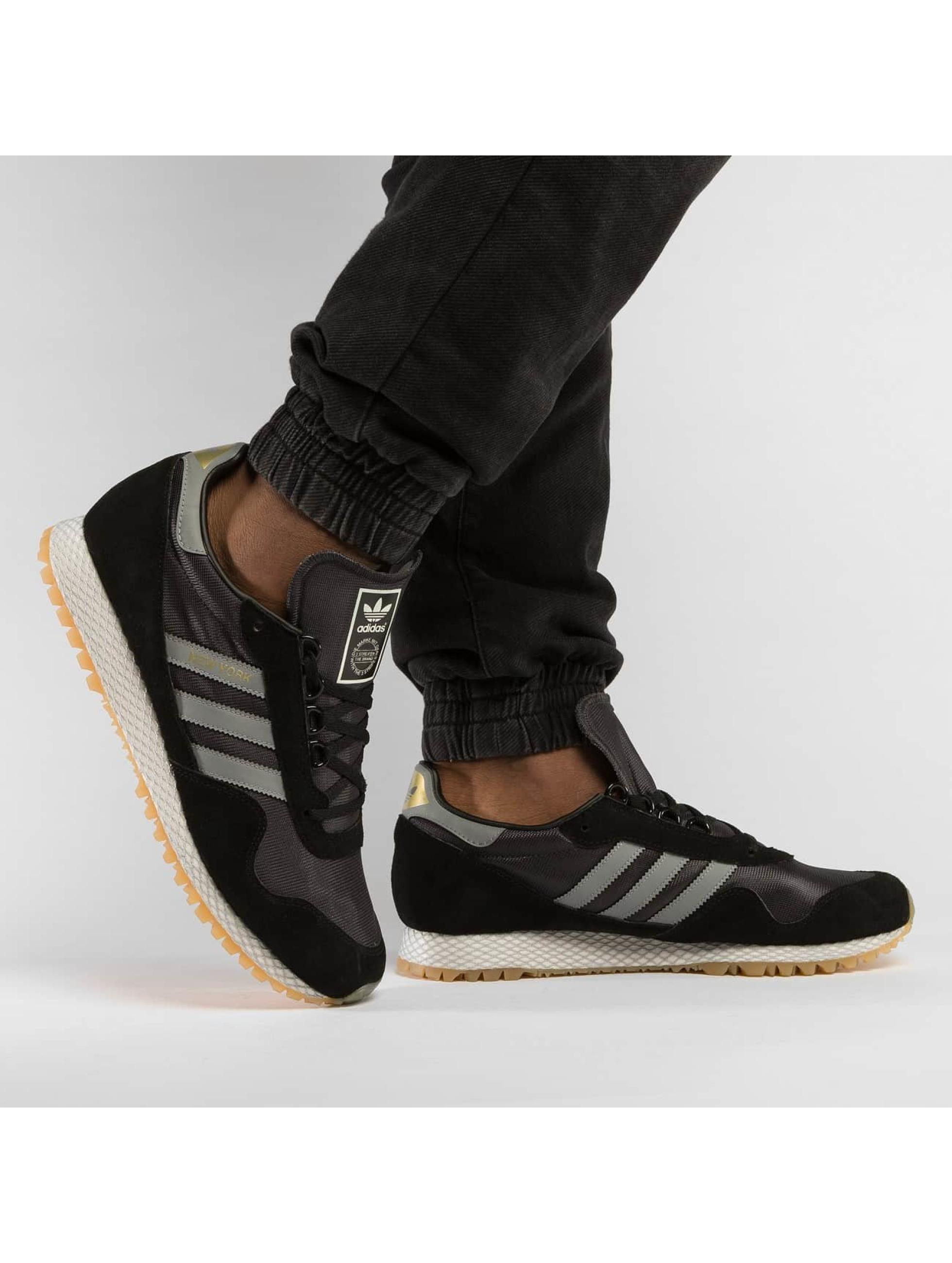 adidas Сникеры New Yorck черный