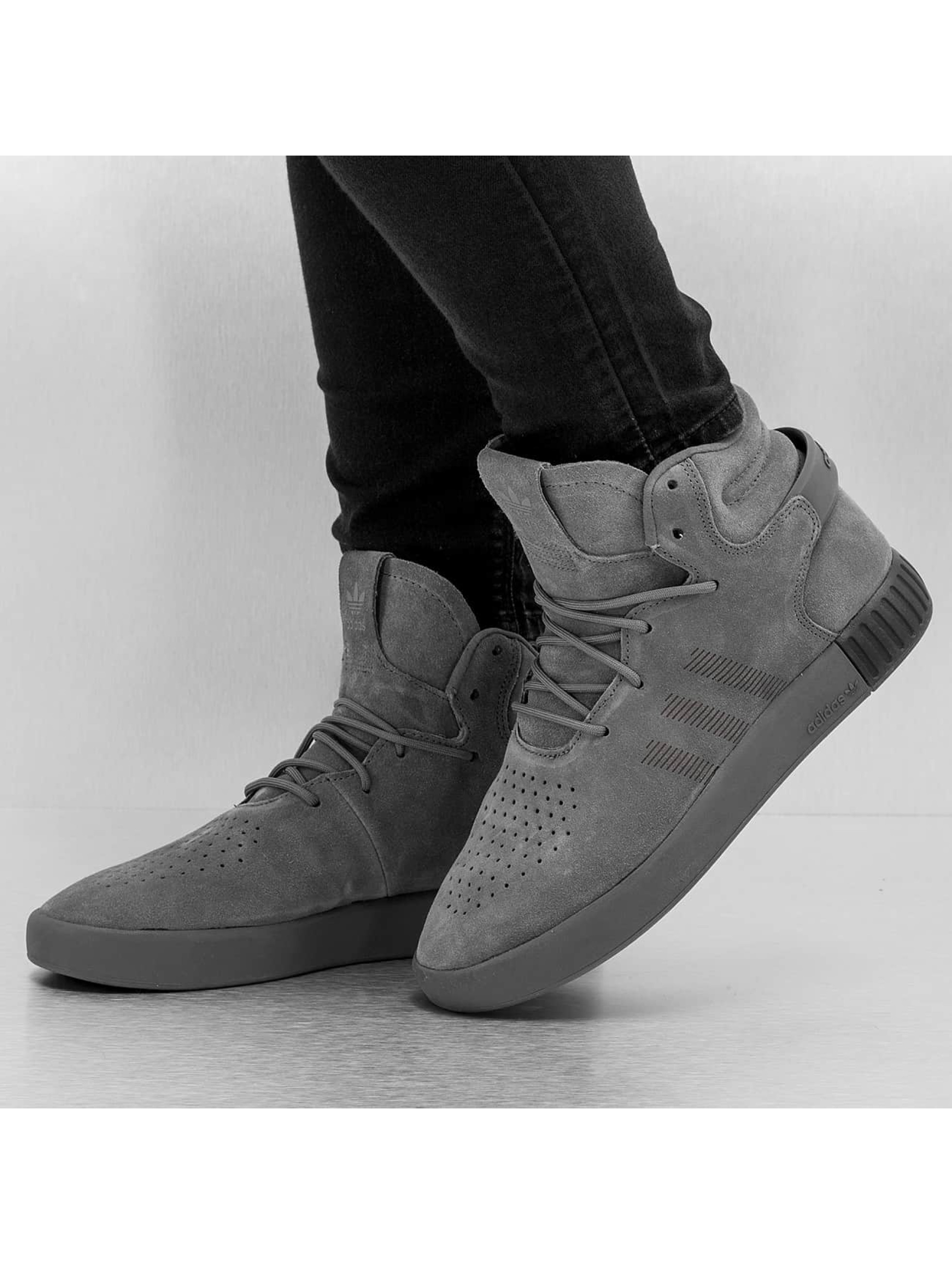adidas Baskets Tubular Invader gris