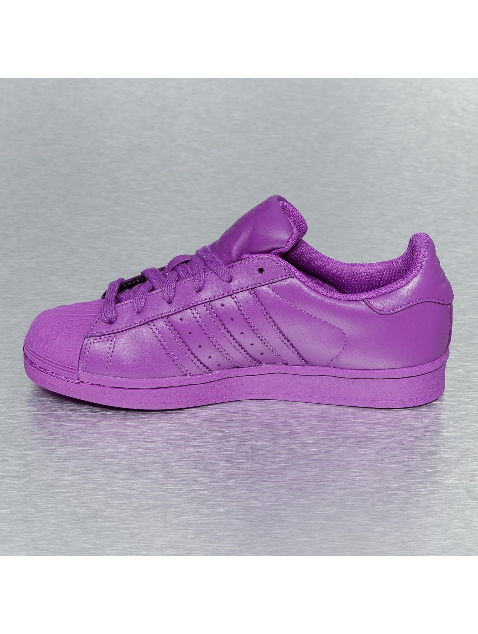adidas superstar dames paars