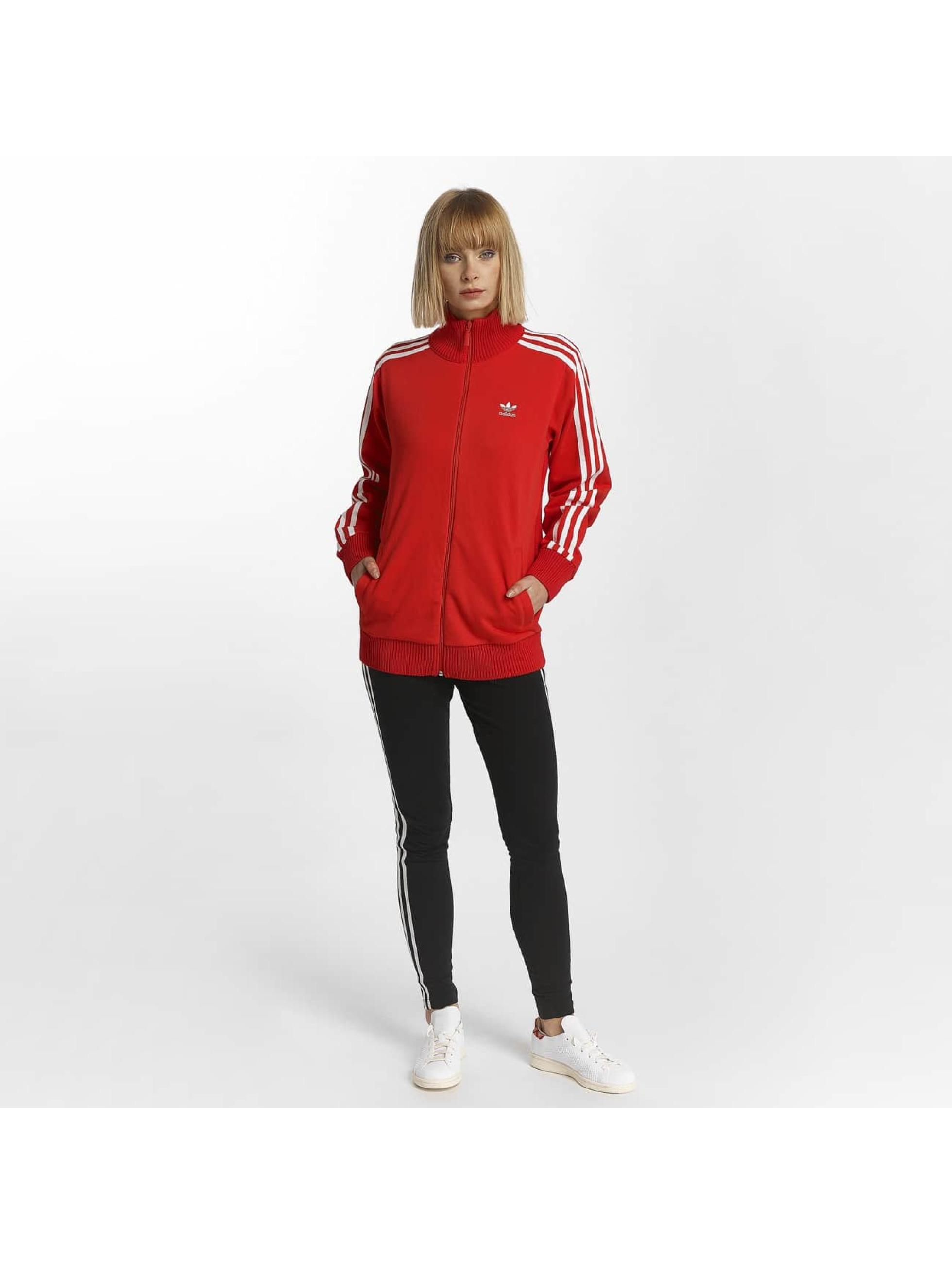 adidas Bundy na přechodné roční období Originals Track Top červený