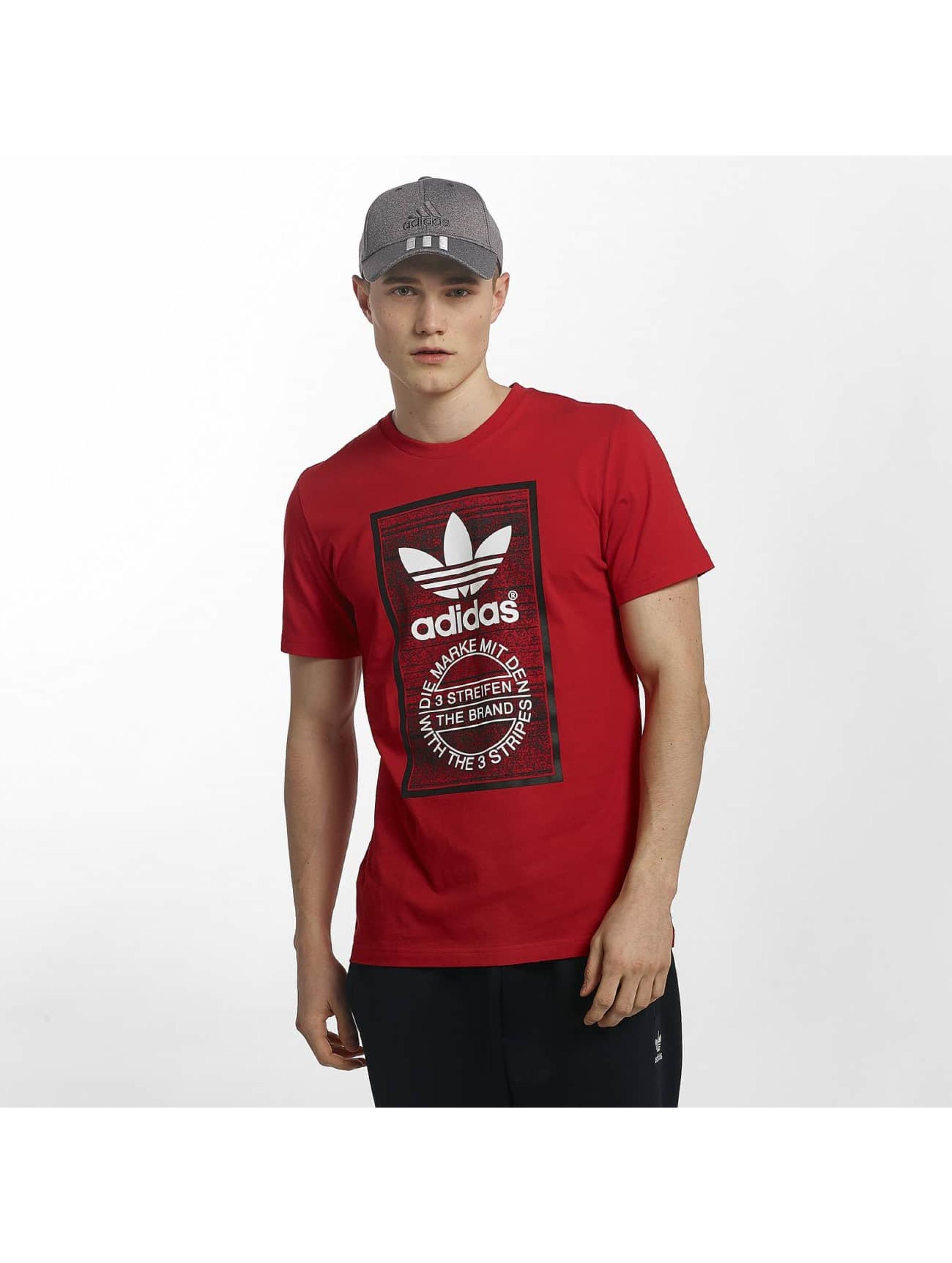 adidas Camiseta Traction Tongue rojo