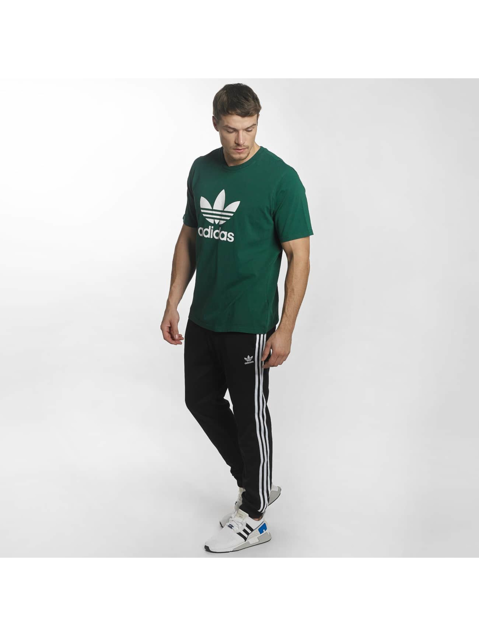 adidas Camiseta Trefoil verde
