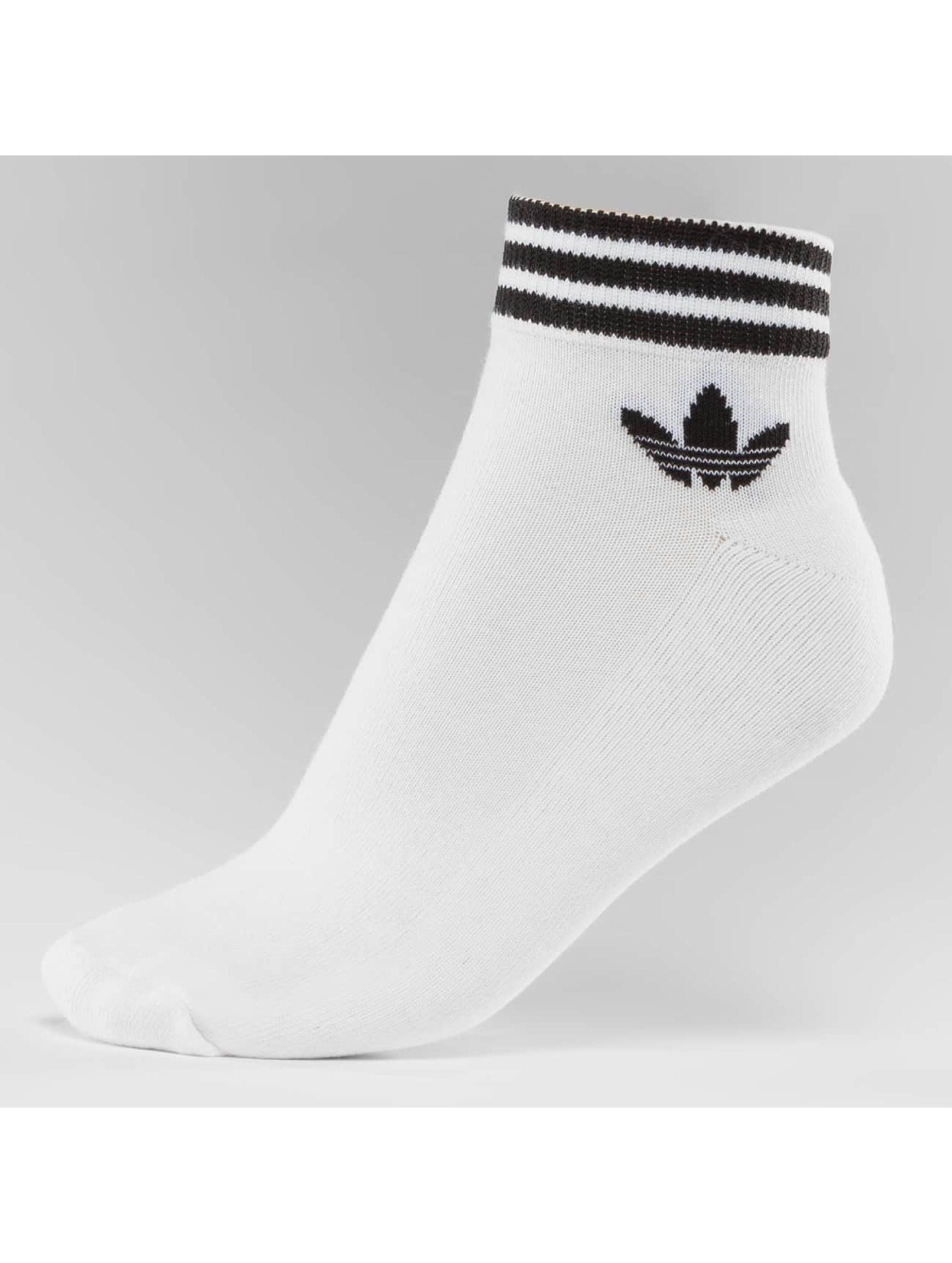 adidas Chaussettes Trefoil blanc