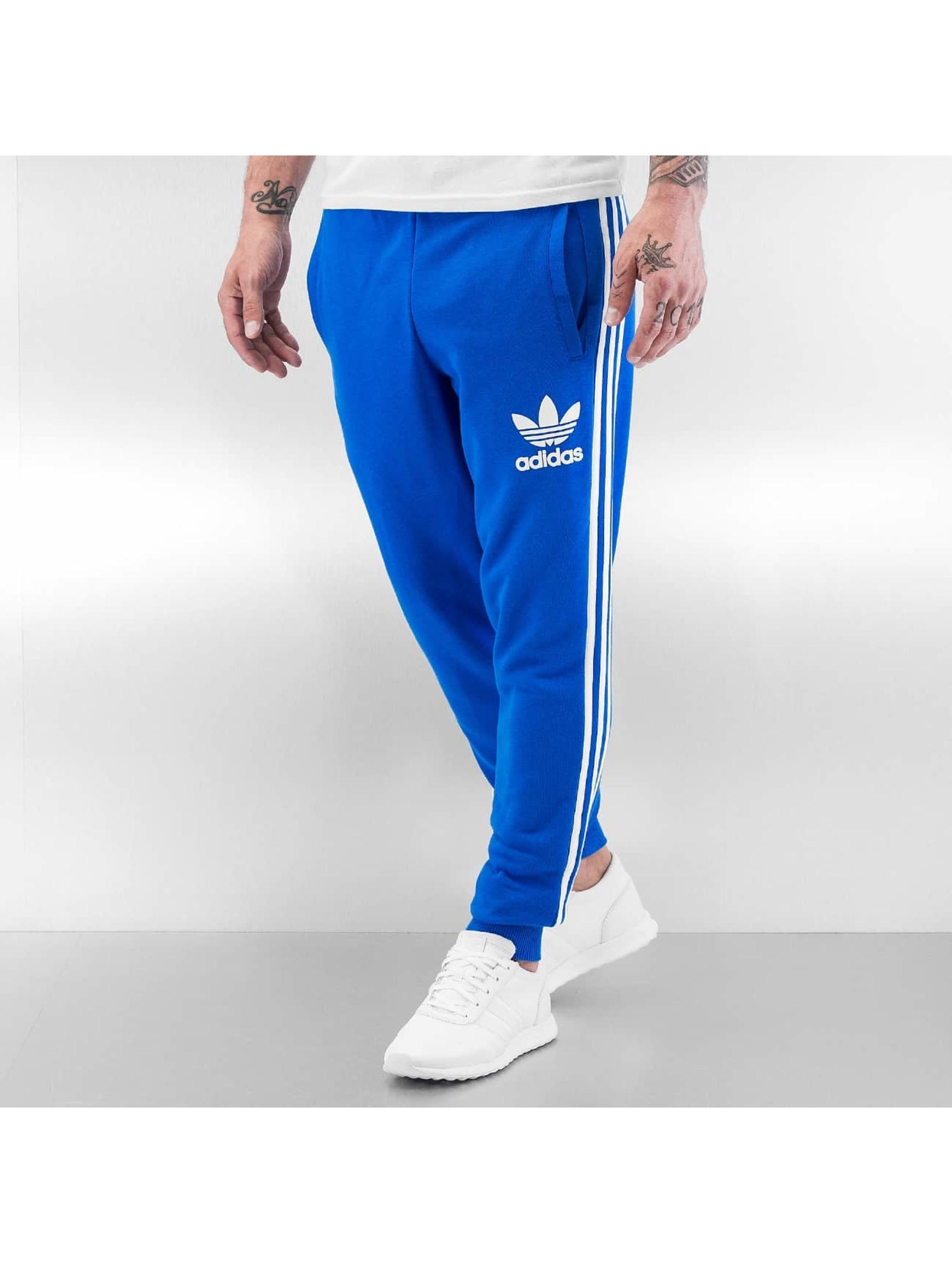 pantalon adidas bleu