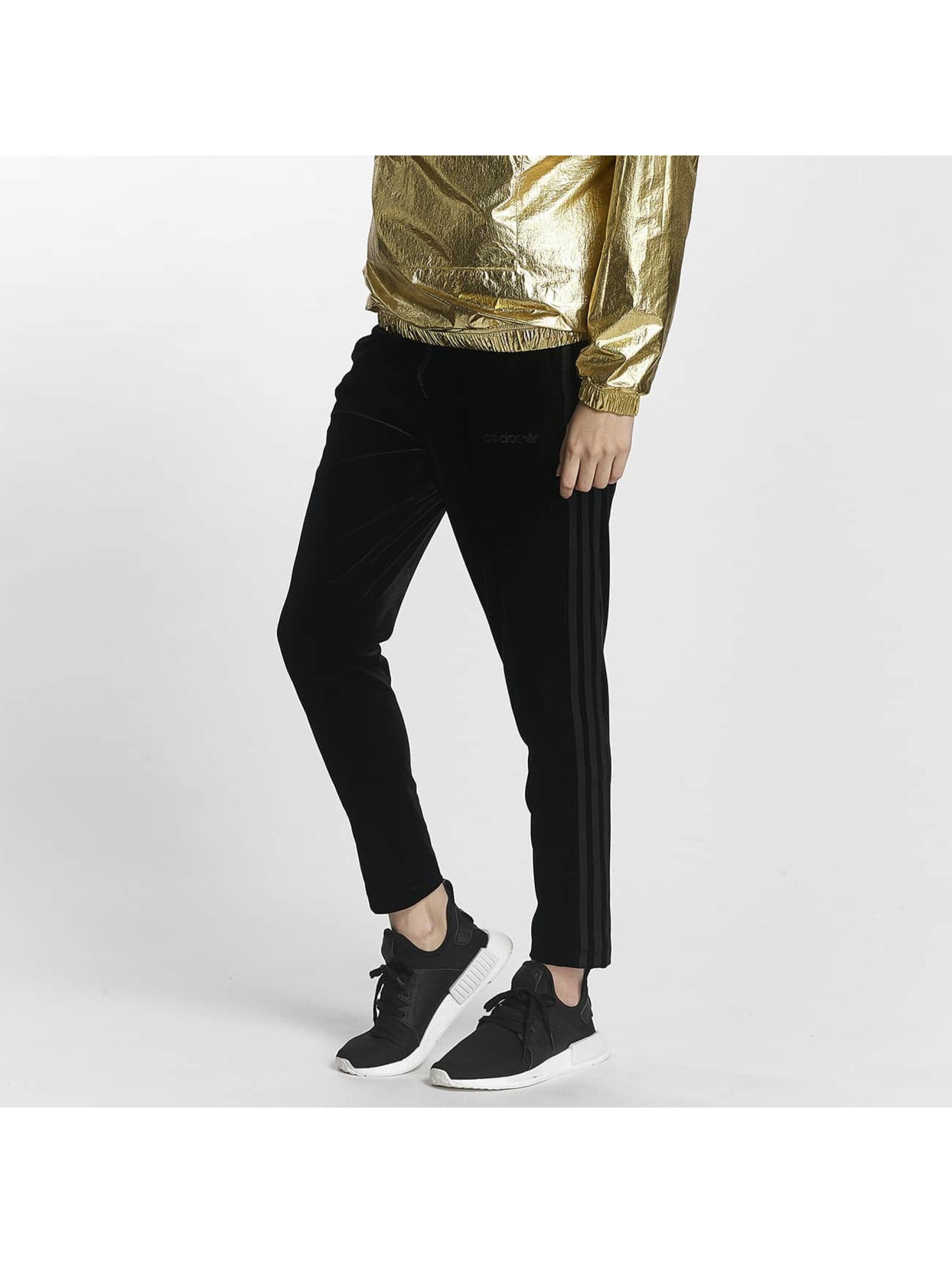 adidas Jogginghose Velvet Track schwarz