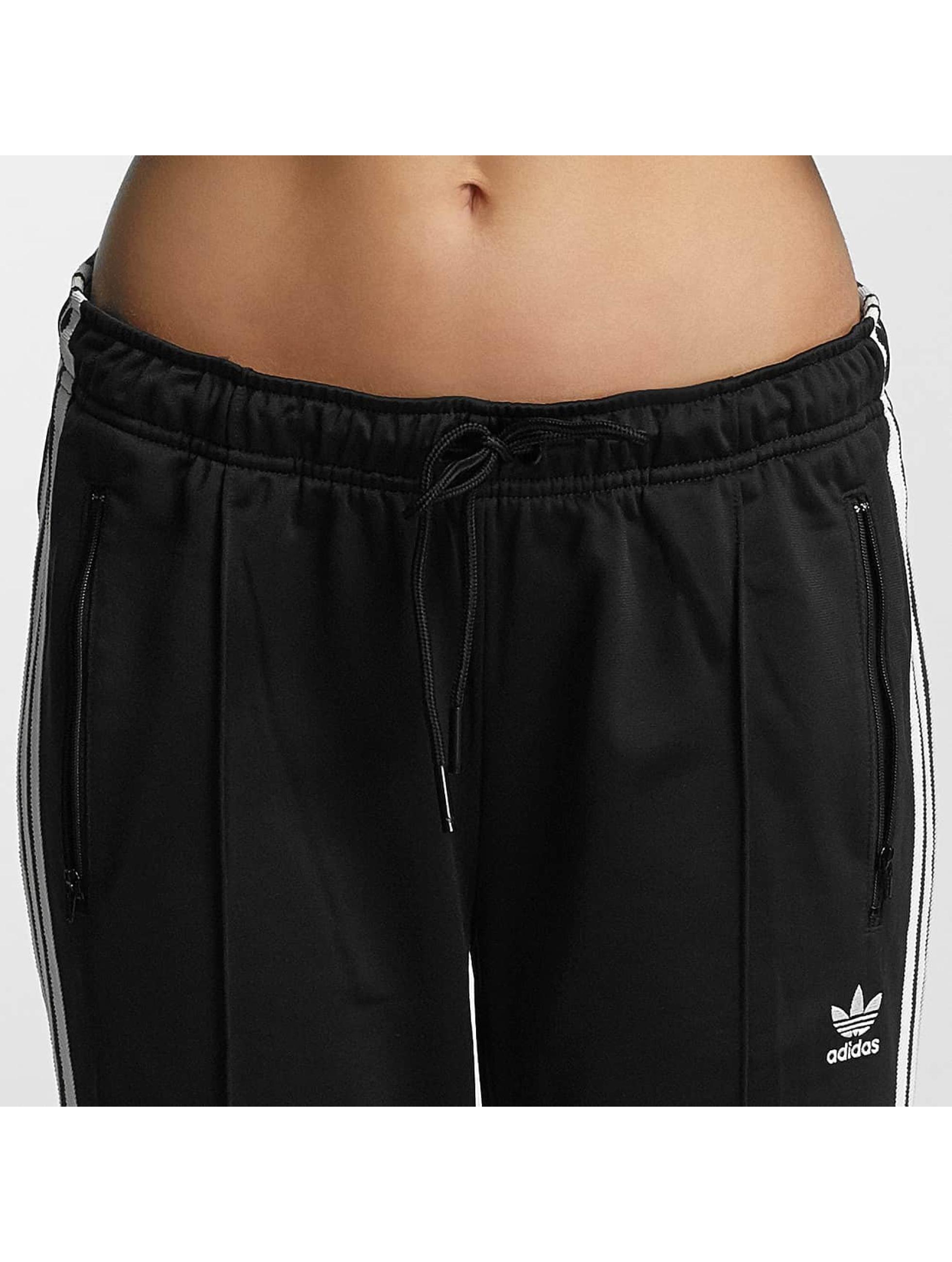 adidas Jogginghose Cigarette schwarz