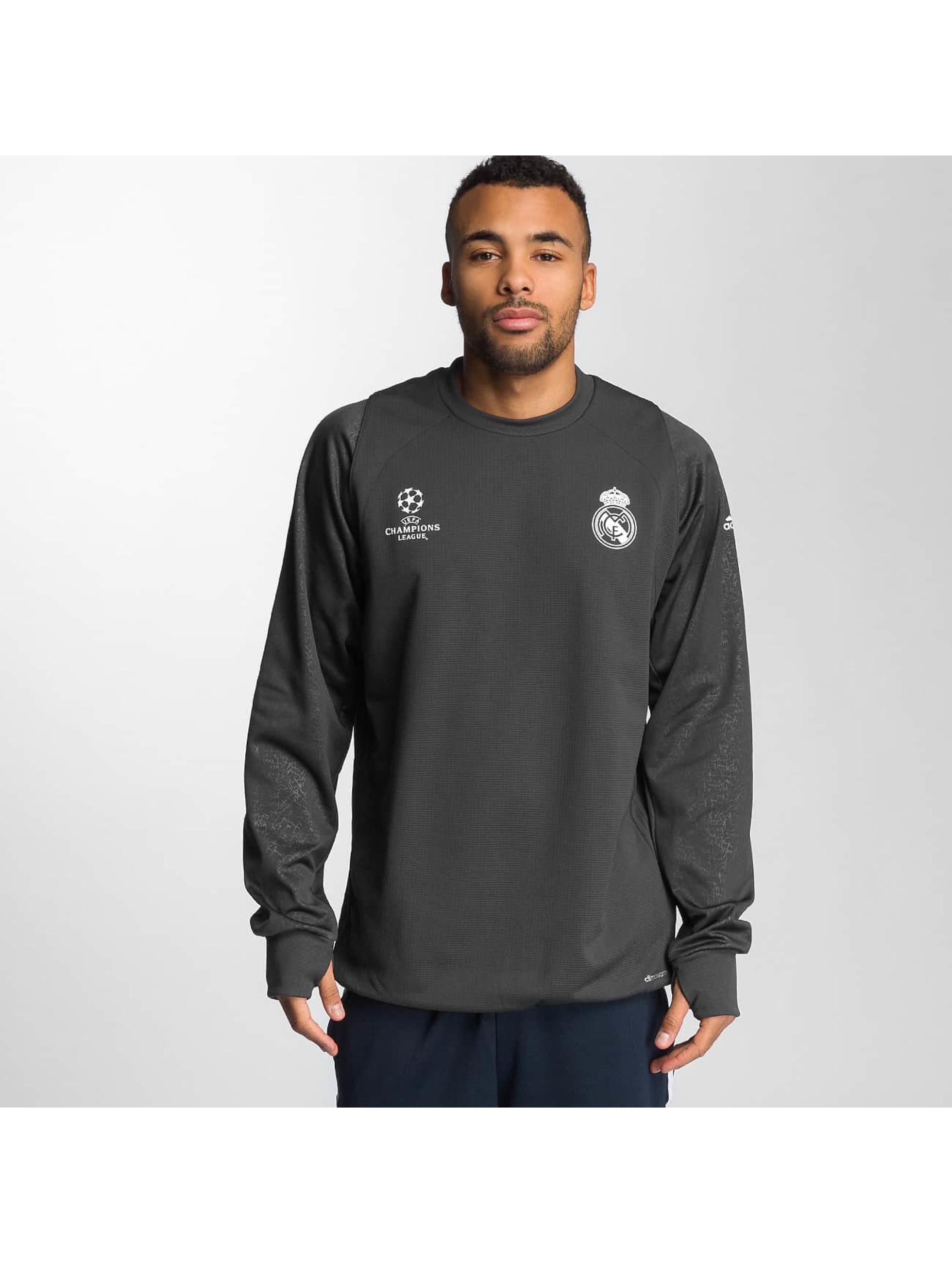 adidas Langermet Real Madrid grå