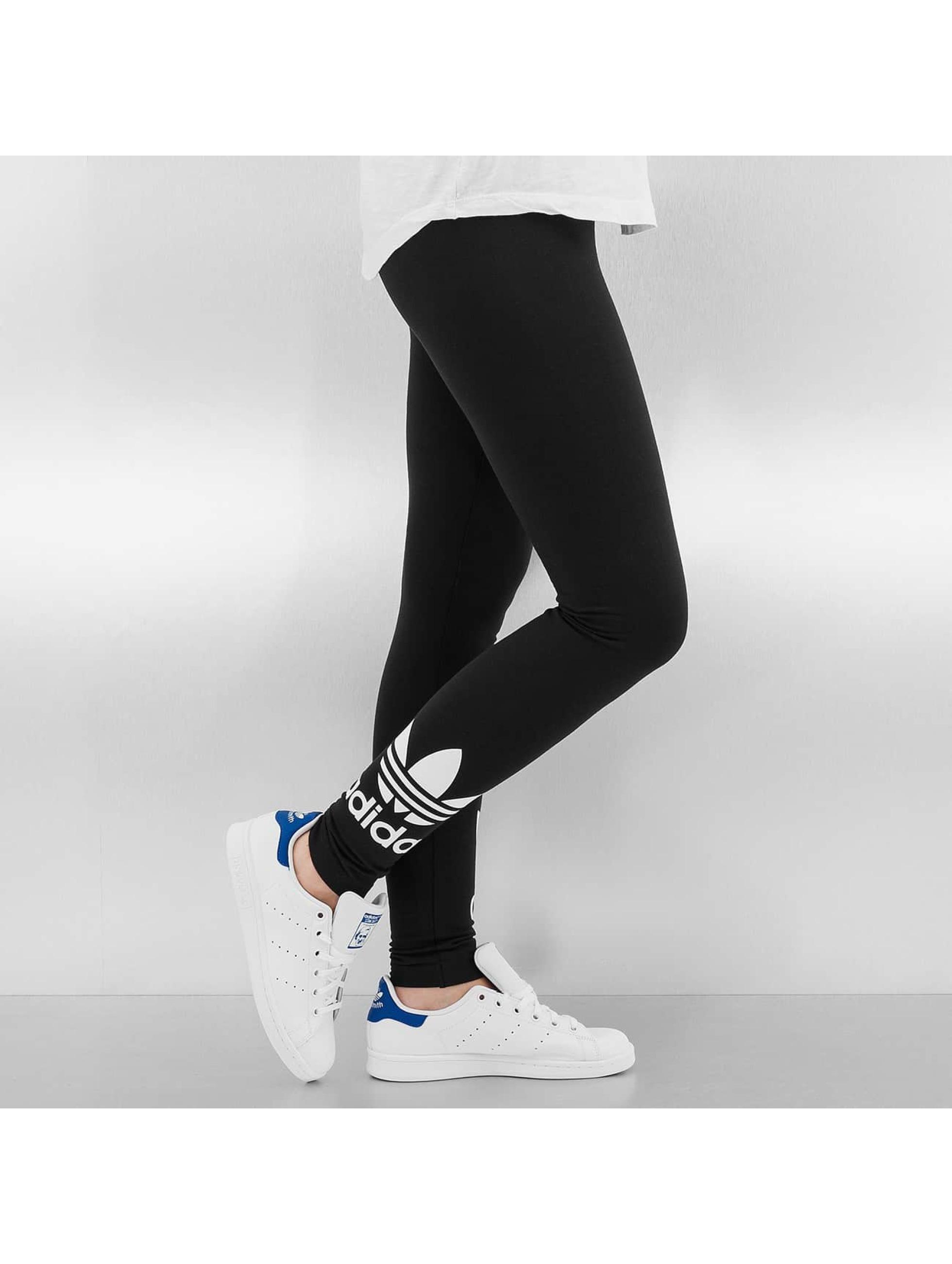 adidas damen legging trefoil in schwarz 224554. Black Bedroom Furniture Sets. Home Design Ideas