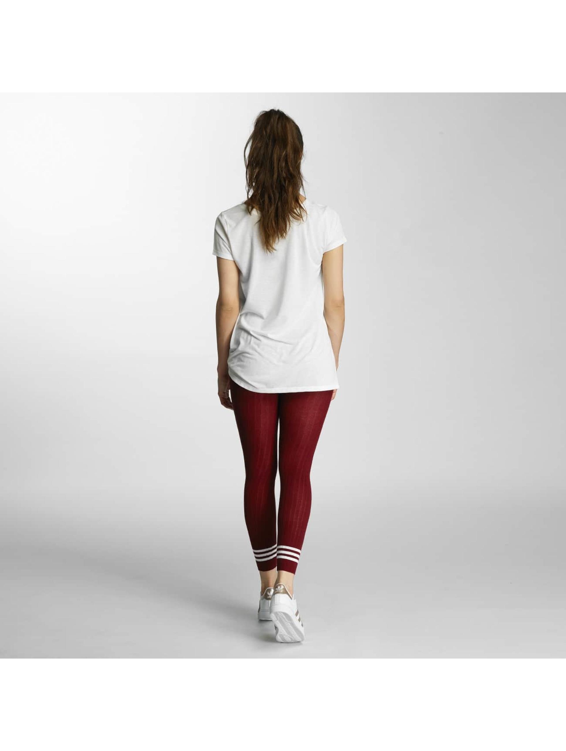 adidas Legging/Tregging 3 Stripes red