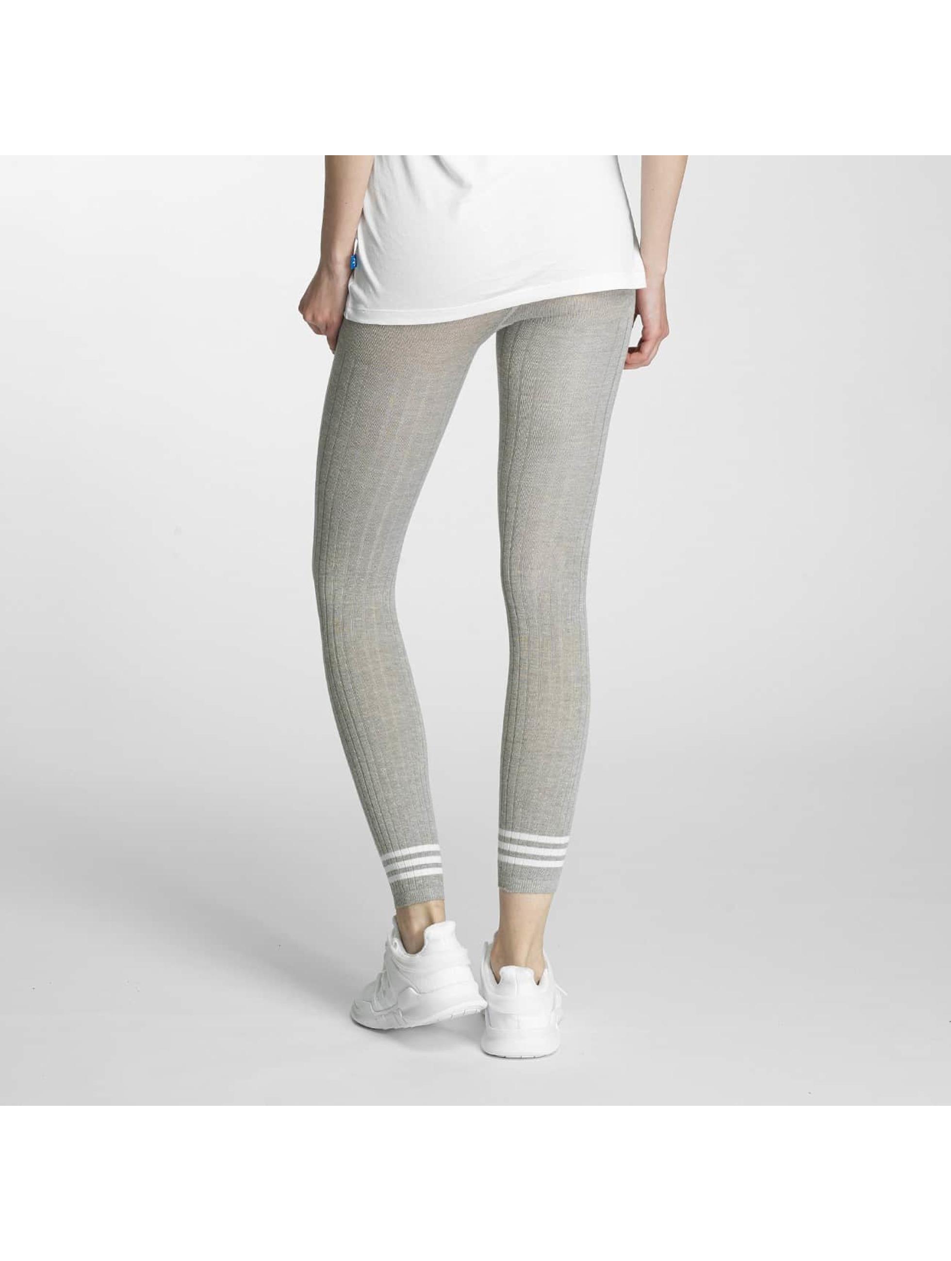 adidas Leggingsit/Treggingsit 3 Stripes harmaa
