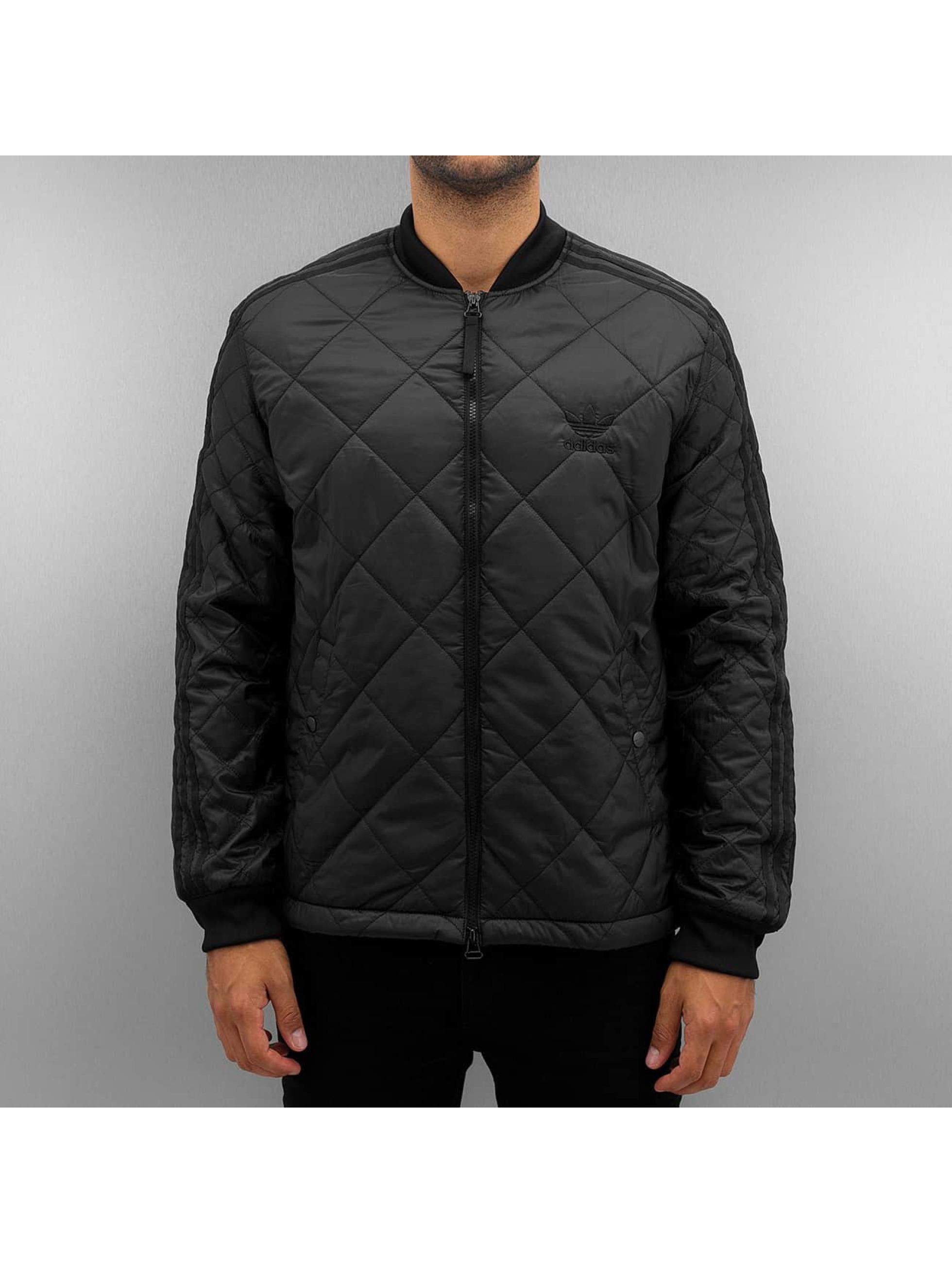 adidas Lightweight Jacket Quilted Superstar black