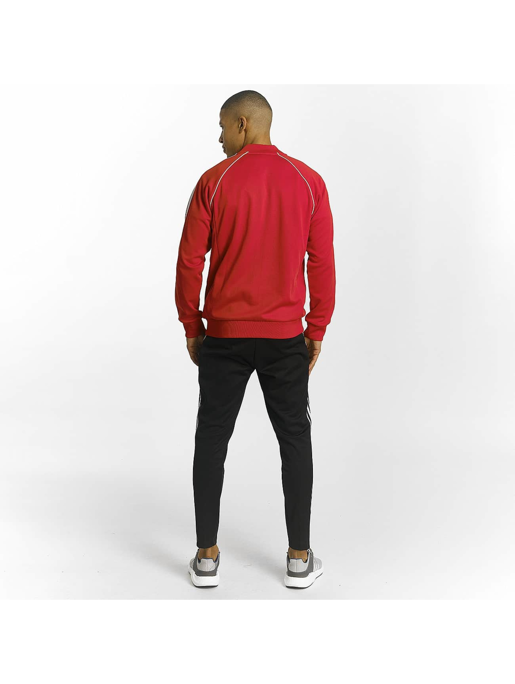 adidas Lightweight Jacket Superstar red