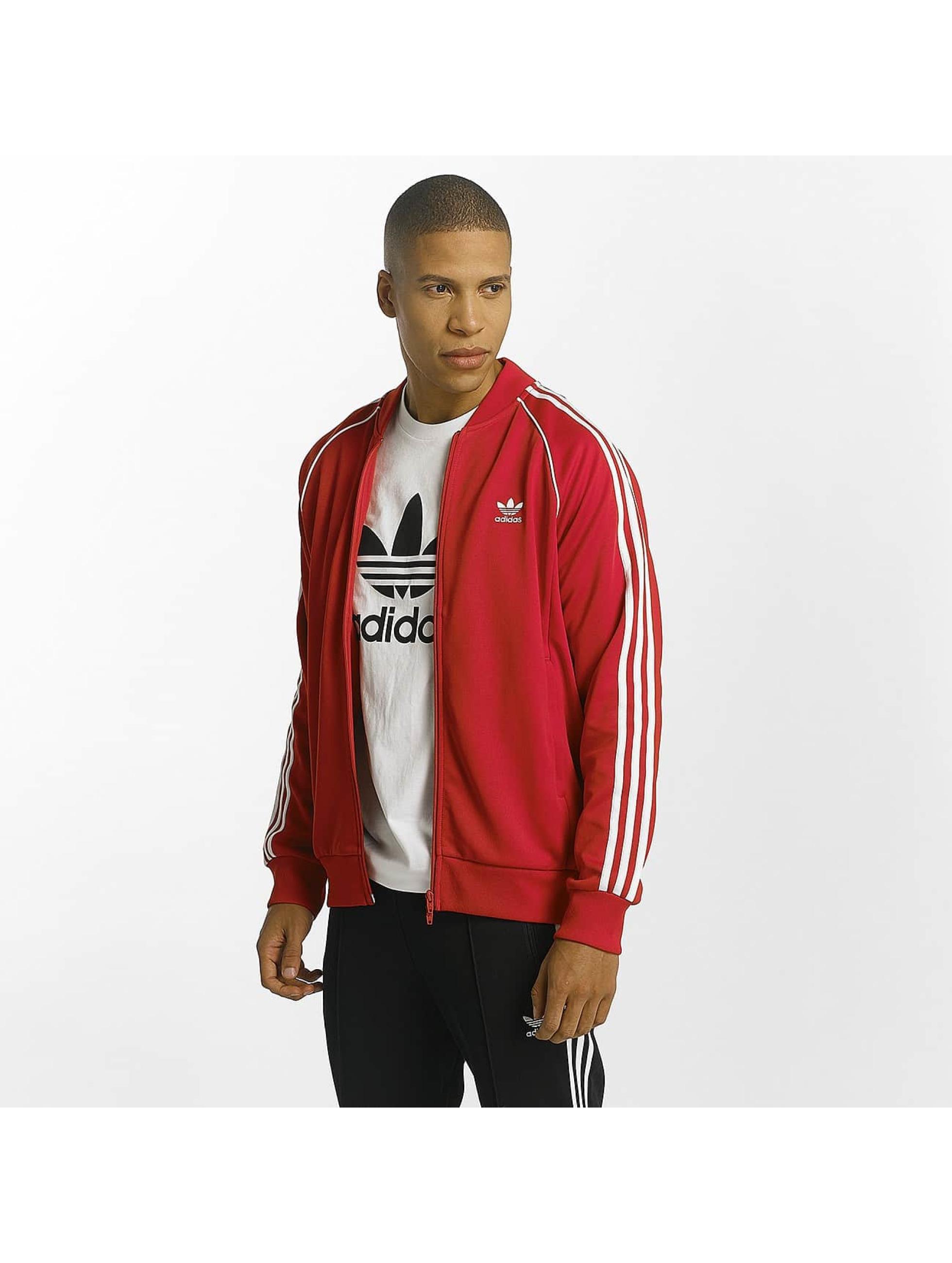 adidas Övergångsjackor Superstar röd