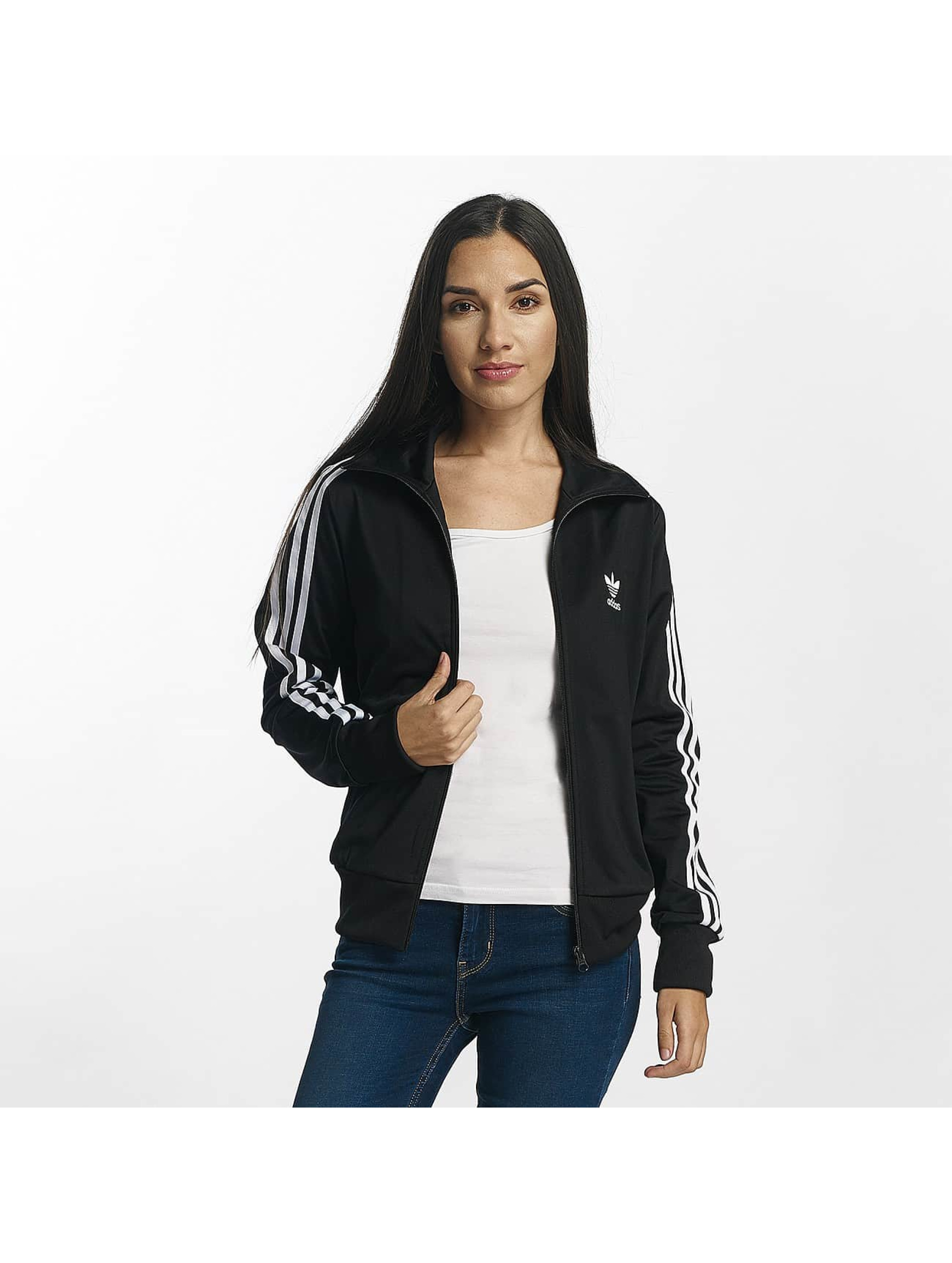 adidas originals Демисезонная куртка Firebird Track Top черный
