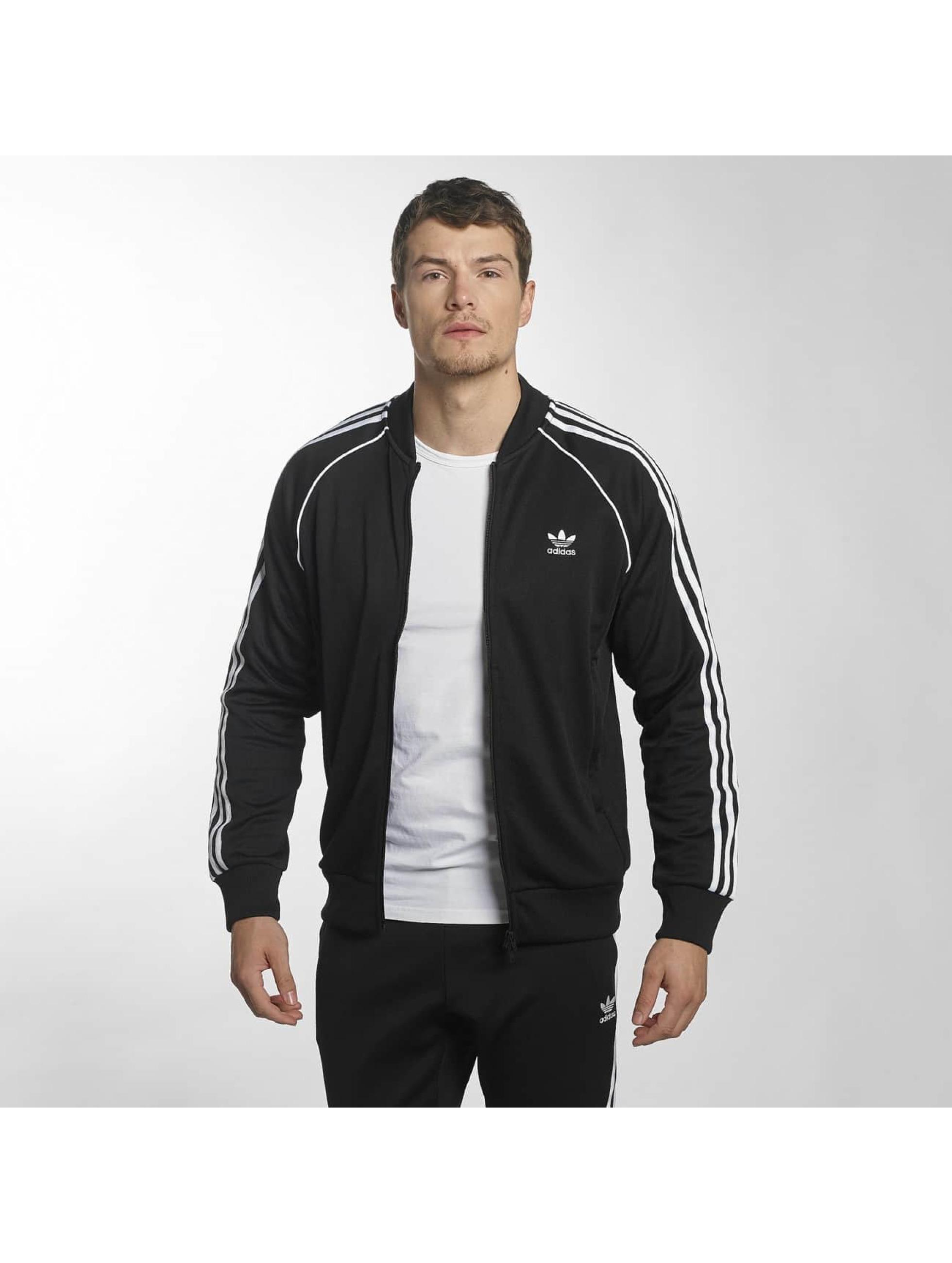 adidas originals Демисезонная куртка Superstar черный