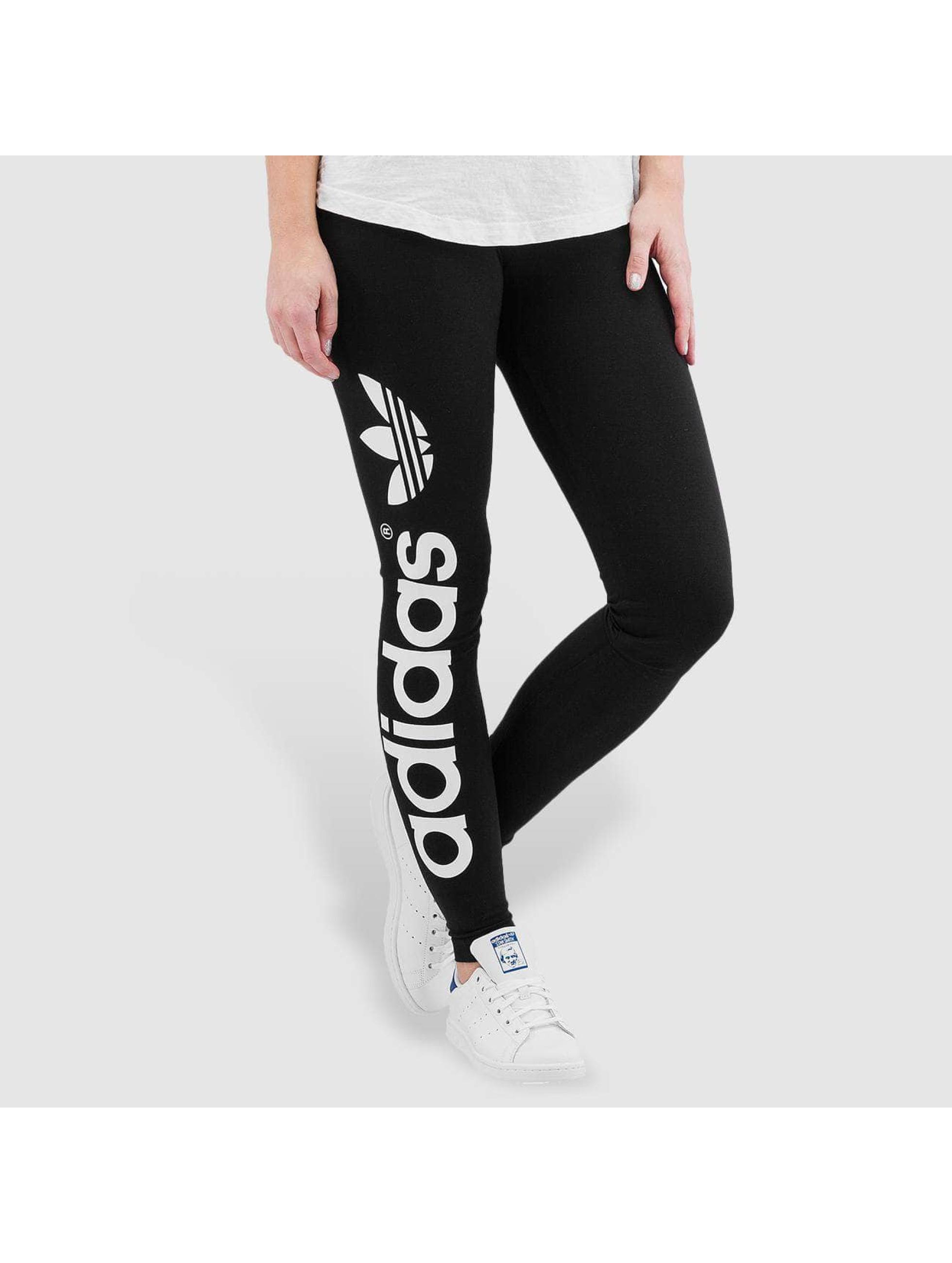 adidas originals Леггинсы Linear черный