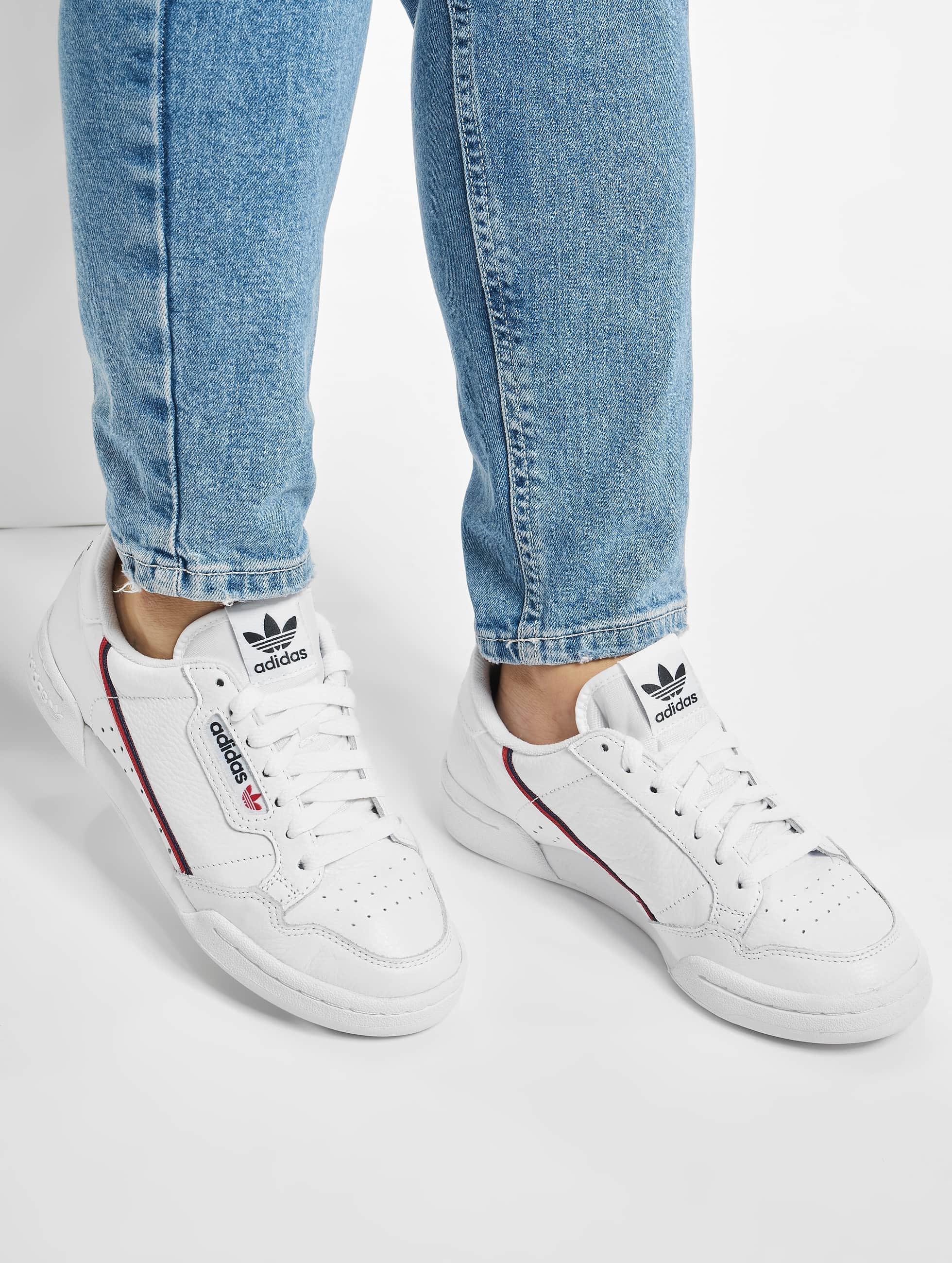 adidas sneakers blanc
