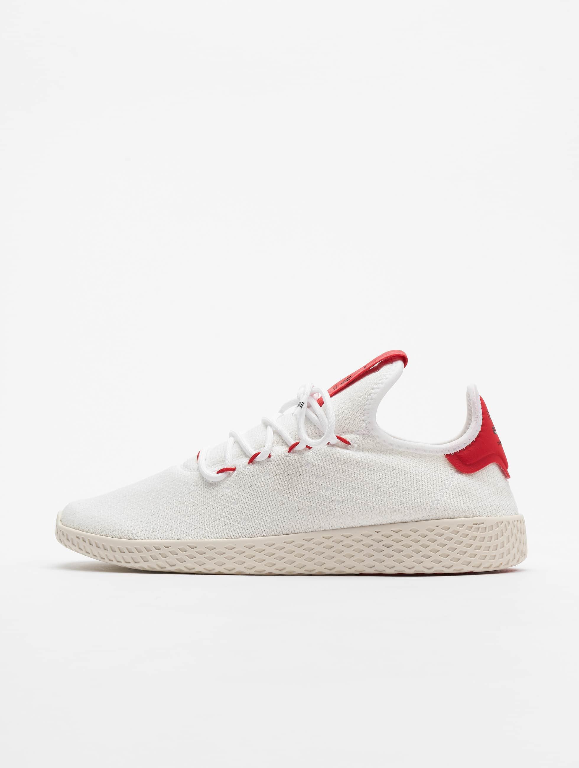 best value online store discount shop Adidas Originals Pw Tennis Hu Sneakers Ftw White/Scarlet/Core White