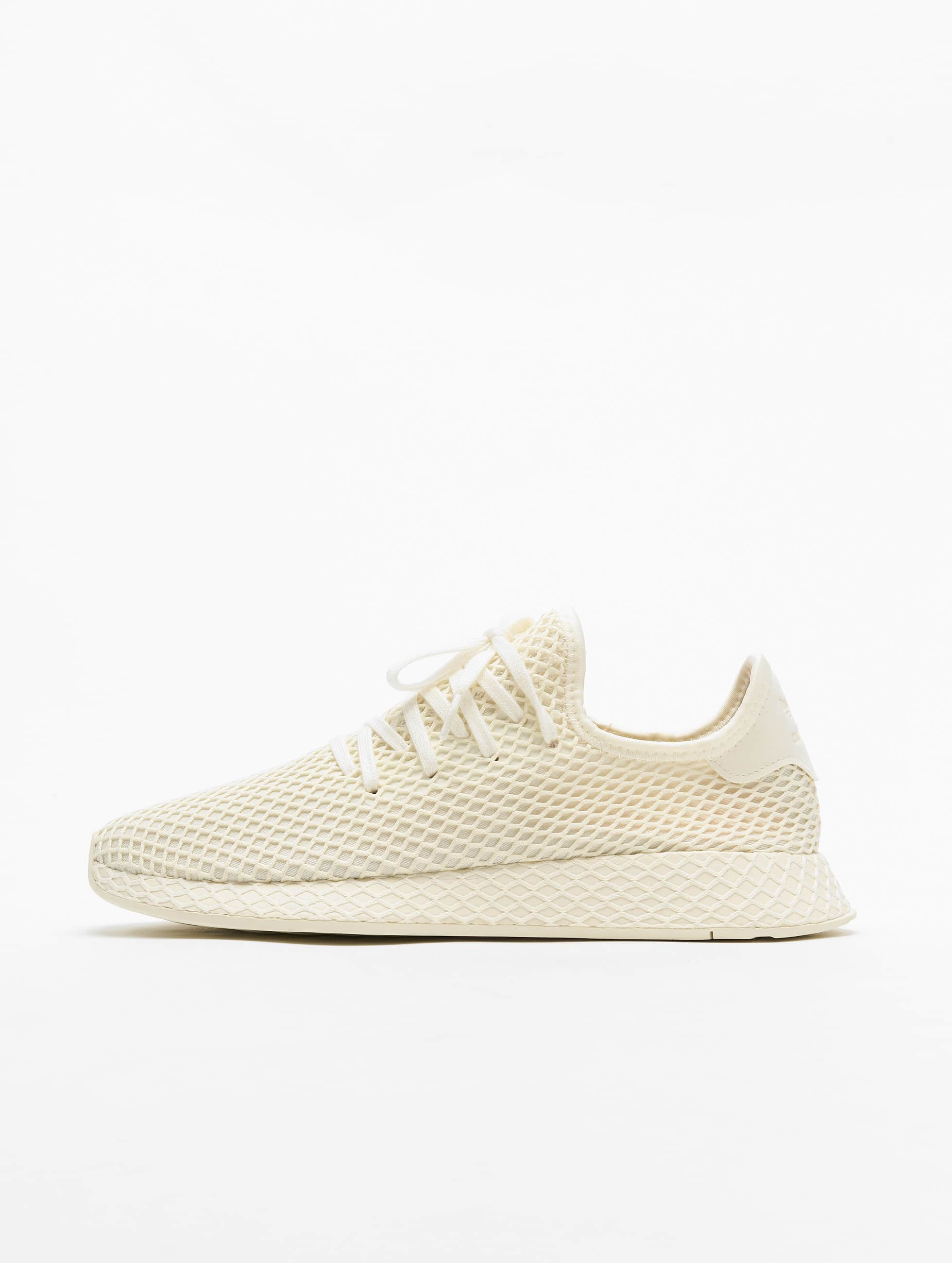 Adidas Originals Deerupt Runner Sneakers Off WhiteFtw WhiteShow Red
