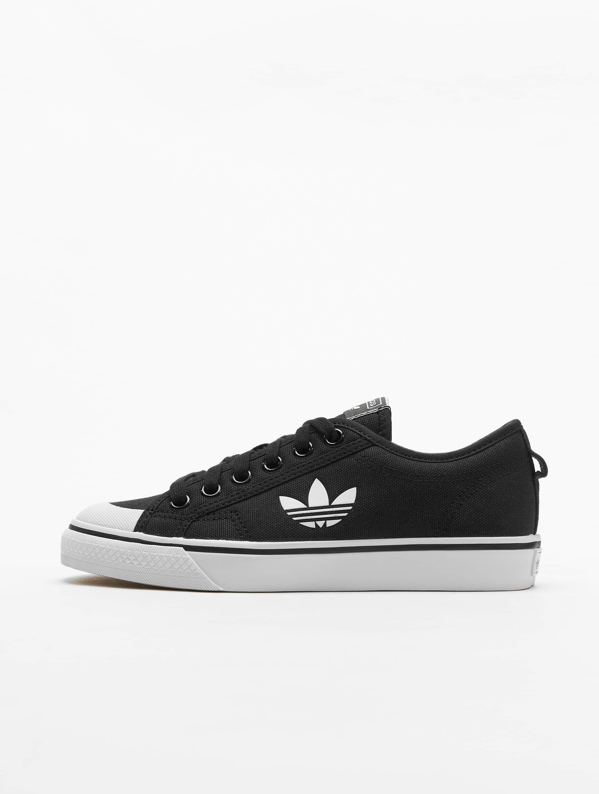 Adidas Nizza Trefoil Sneakers Core Black/Ftwr White/Crystal White