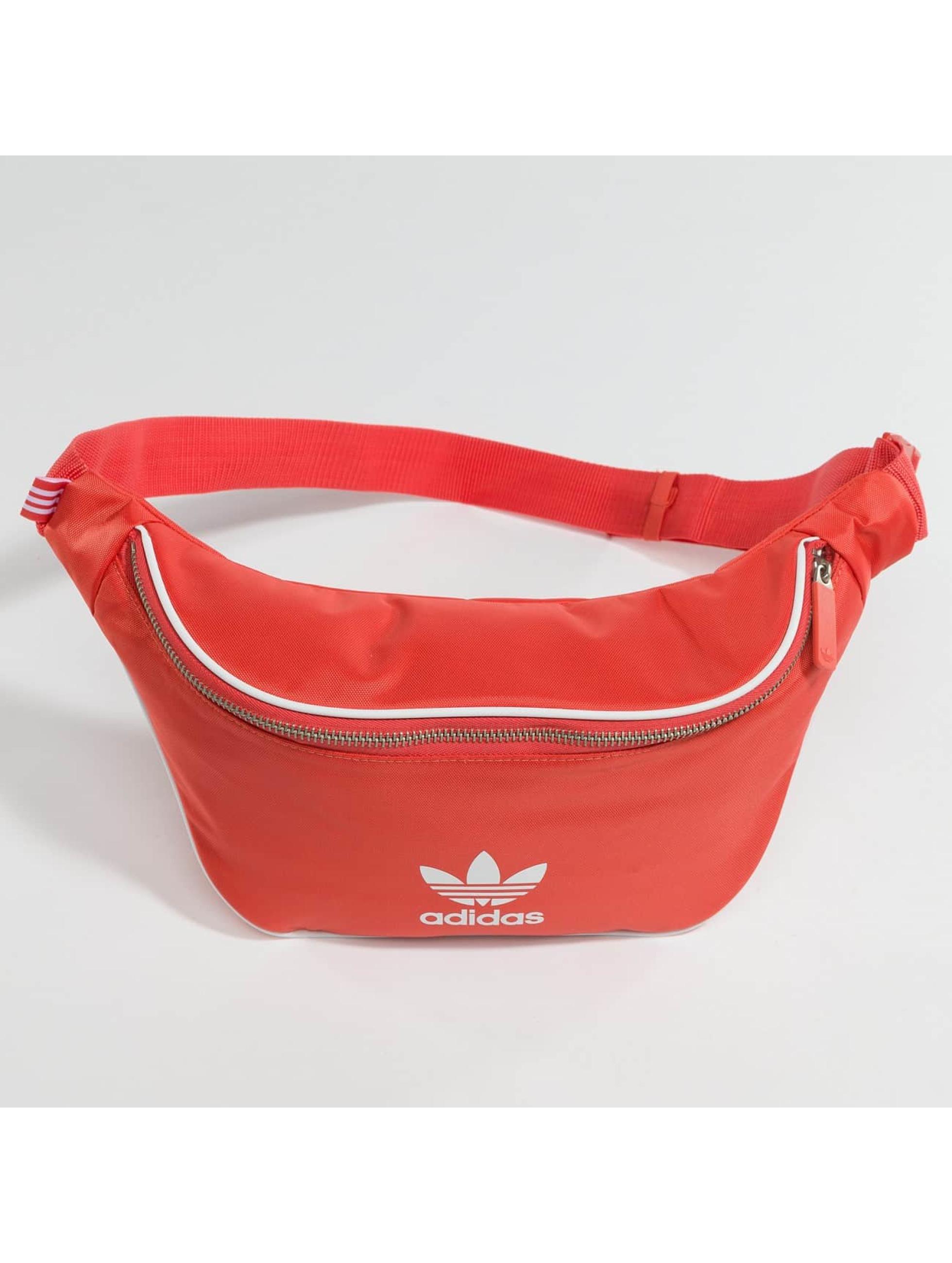 adidas originals Bolso Basic rojo