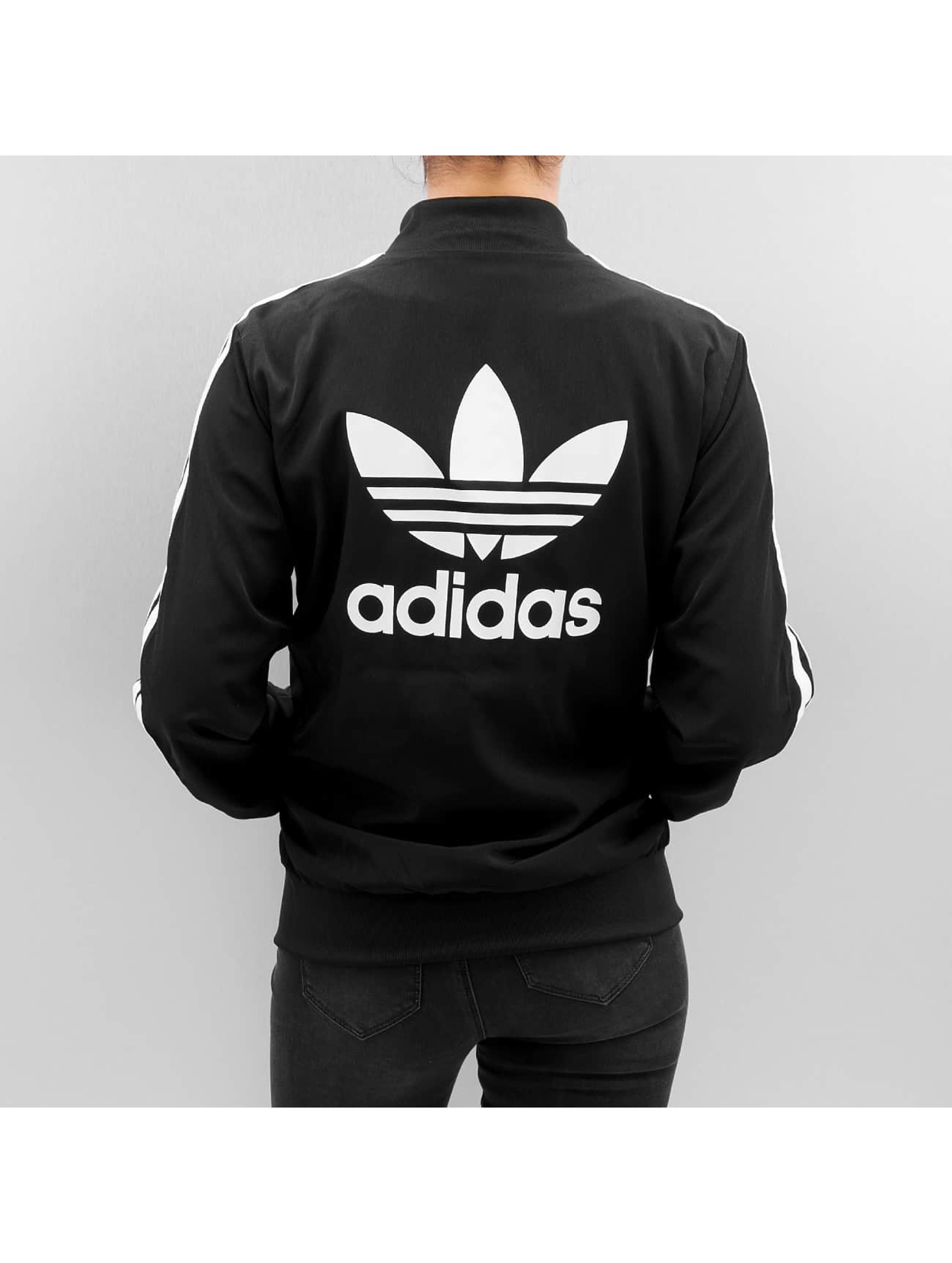 adidas originals Bomberová bunda 3 Stripes èierna