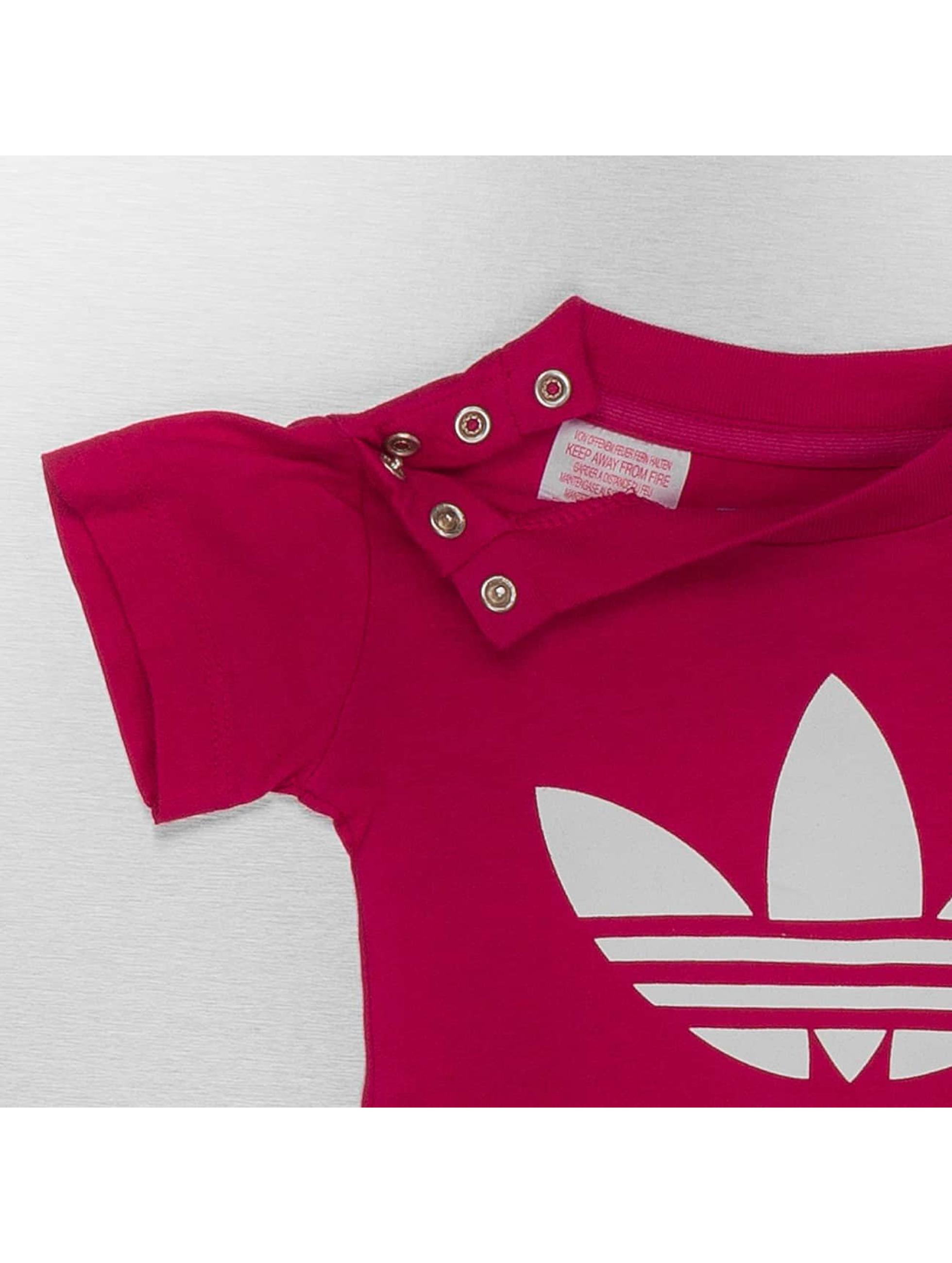 adidas originals Camiseta I Trefoil rojo