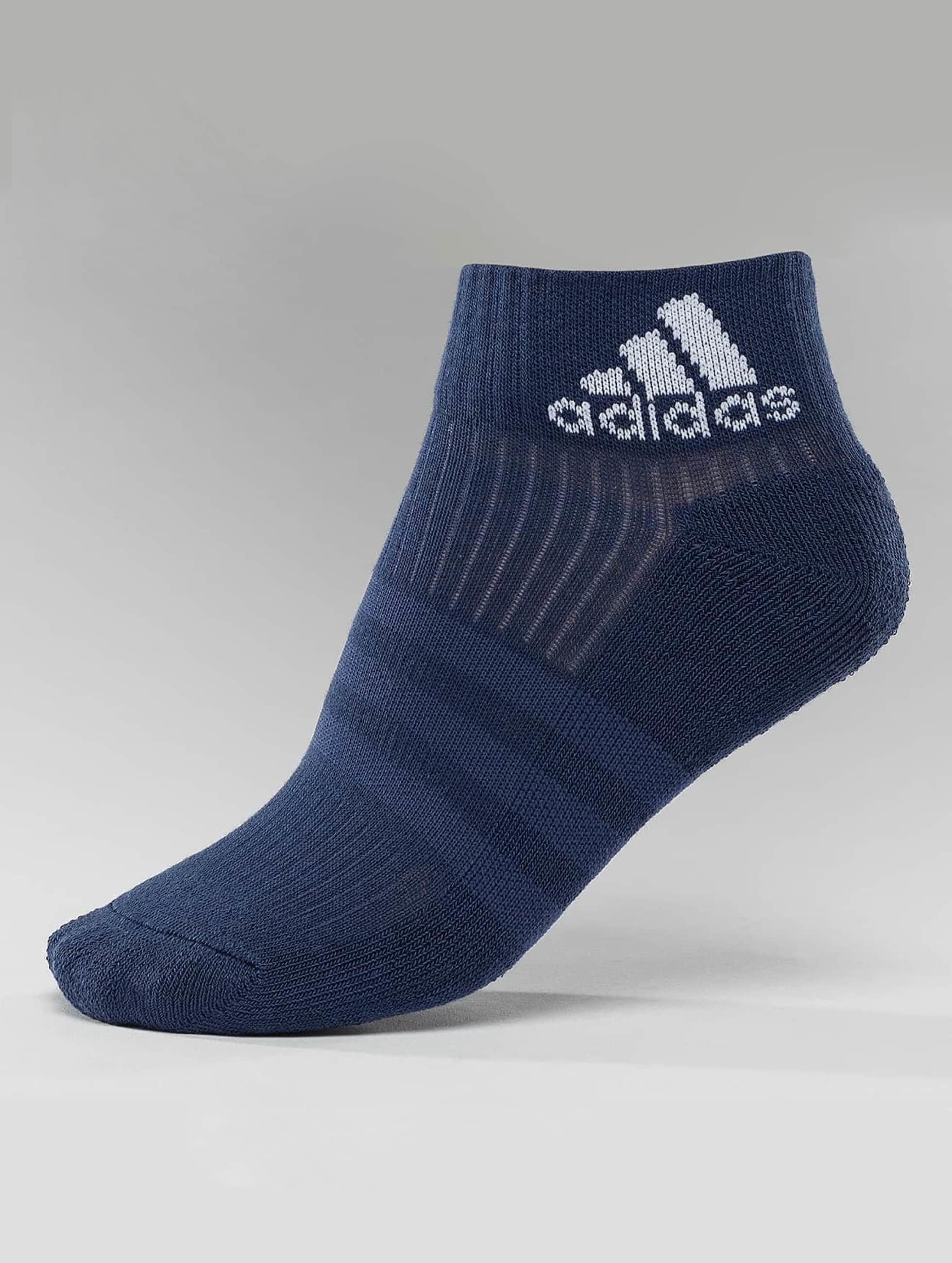 adidas originals Chaussettes 3-Stripes Per An HC 3-Pairs bleu