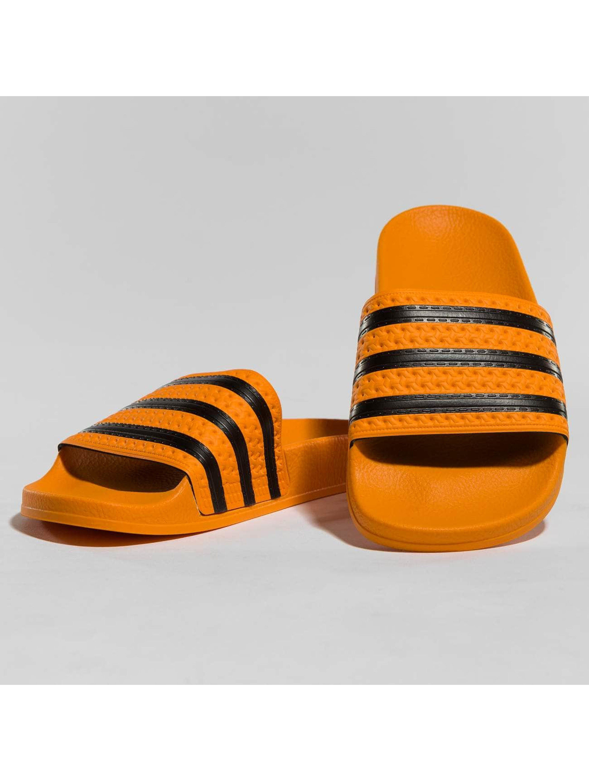 adidas originals Claquettes & Sandales Stripes orange