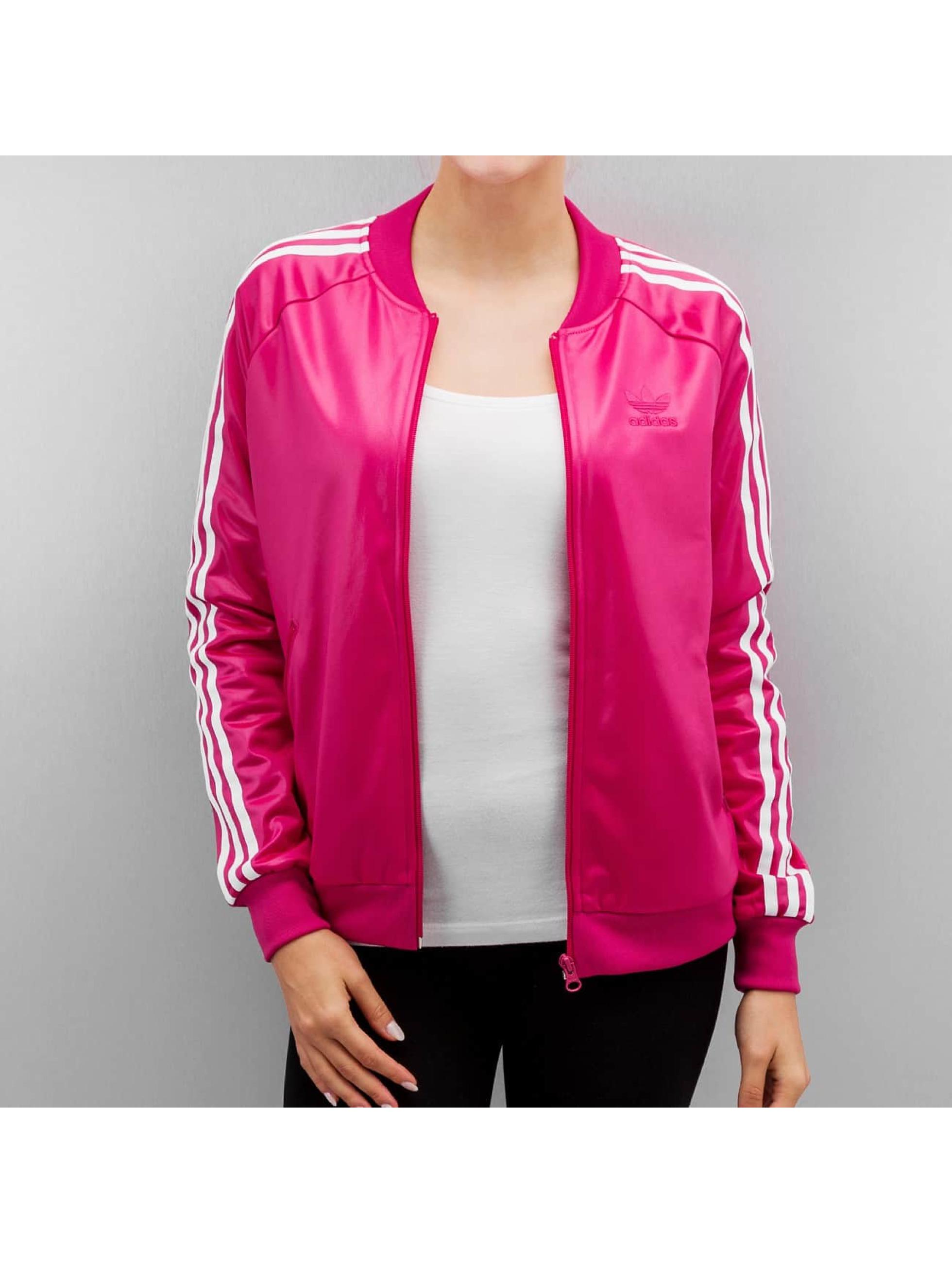 adidas originals Giacca College Superstar rosa
