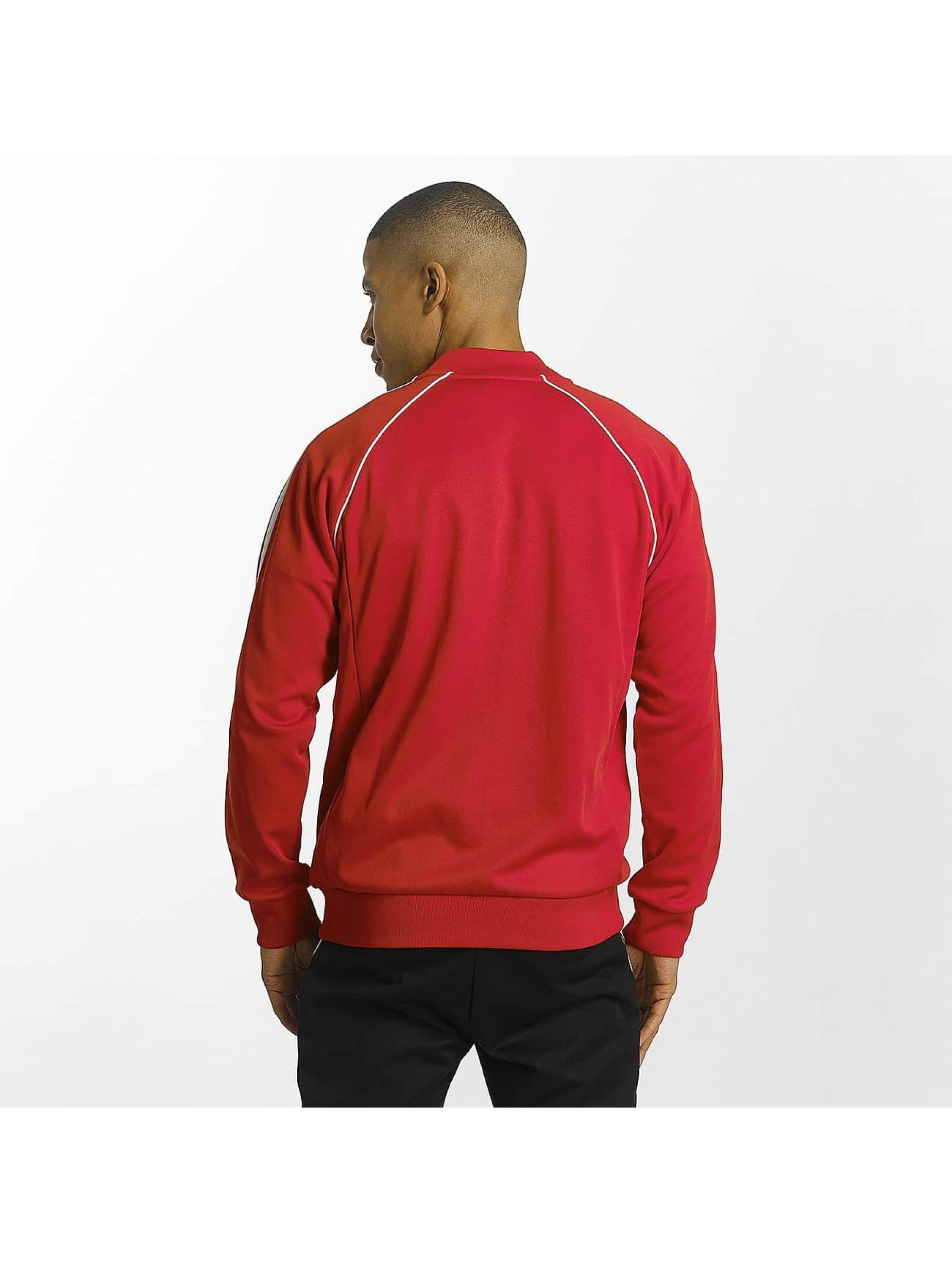 adidas originals Giacca Mezza Stagione Superstar rosso