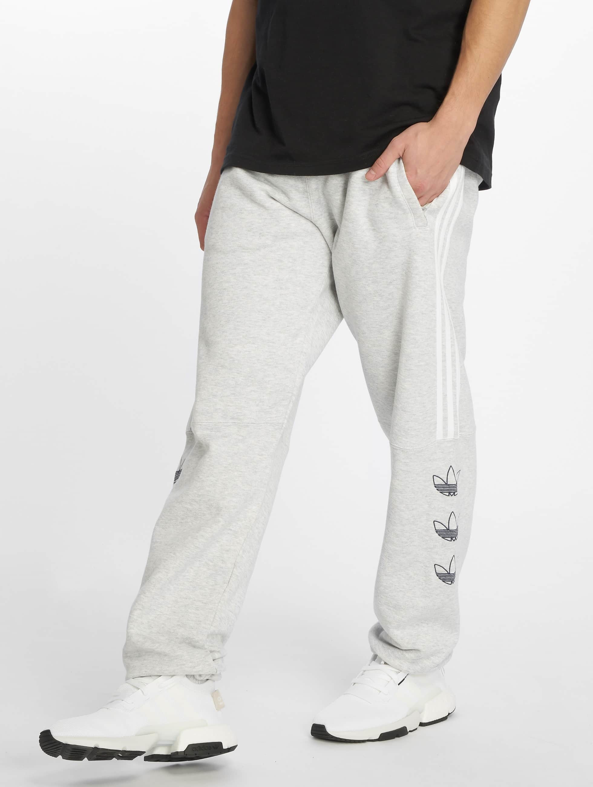 Adidas Originals Ft Sweat Pants Light Grey Heather