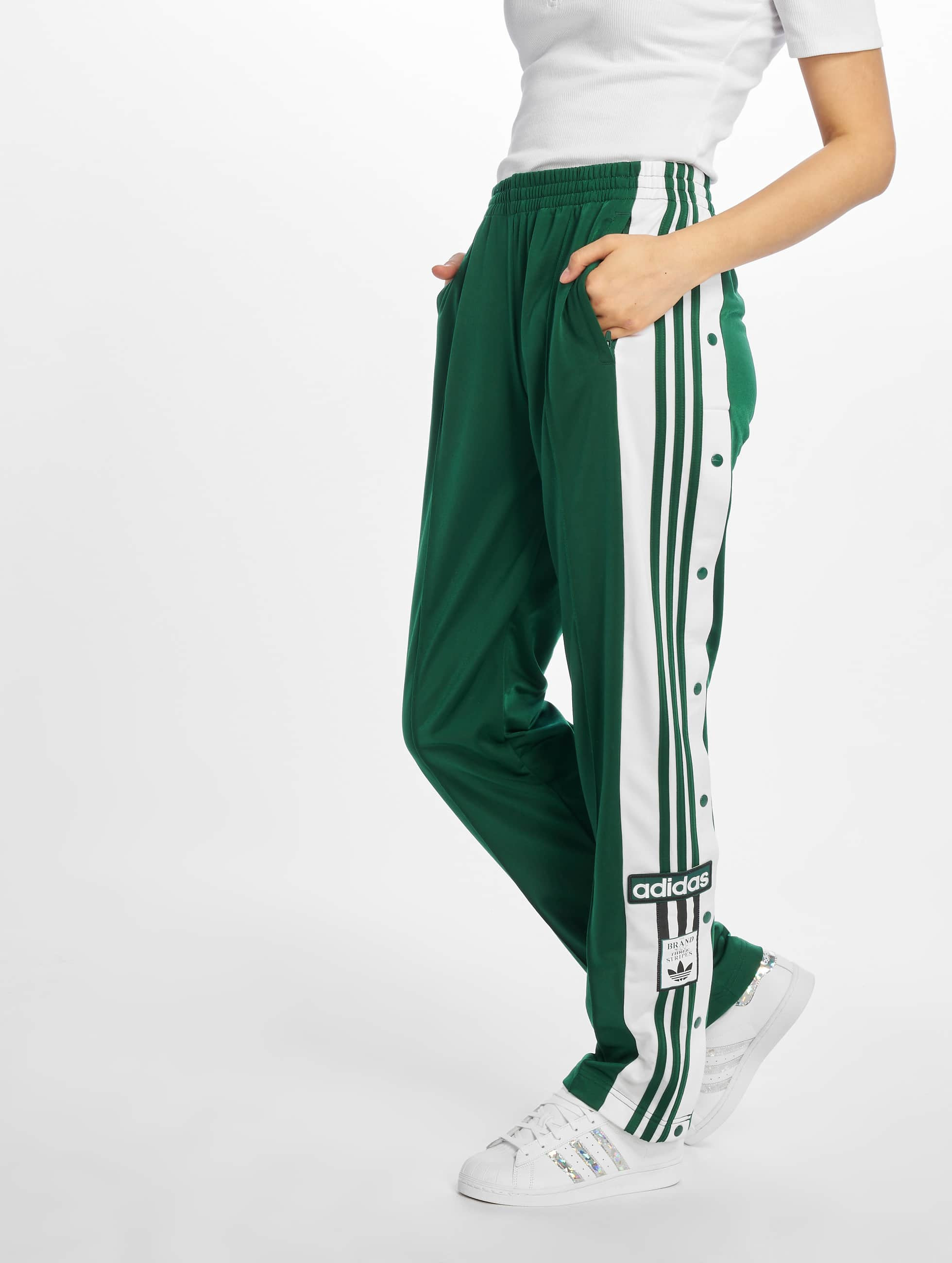 Joggingbroek Groen.Adidas Originals Broek Joggingbroek Adibreak In Groen 543505
