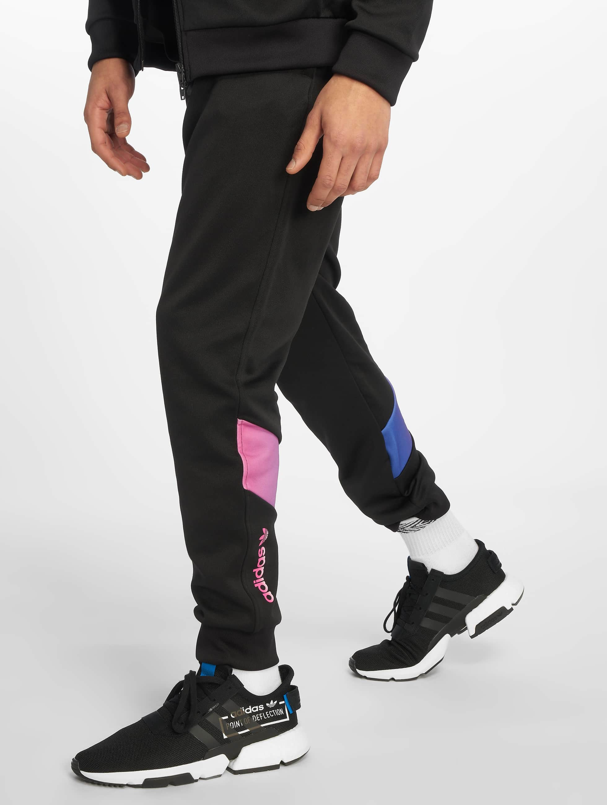 e161c379a5a adidas originals broek / joggingbroek Degrade in zwart 598696