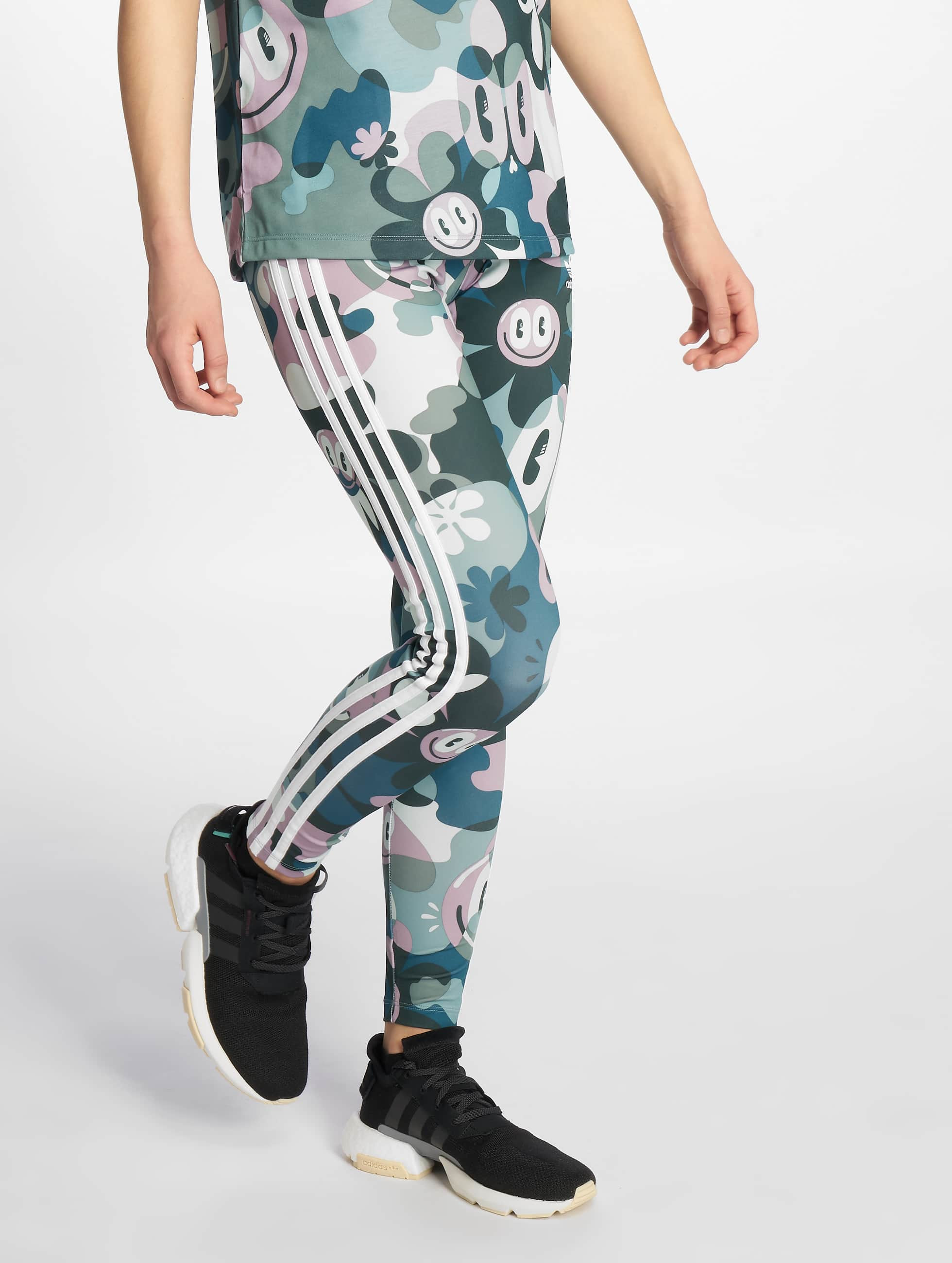 Adidas Originals 3 Stripes Leggings Multicolor