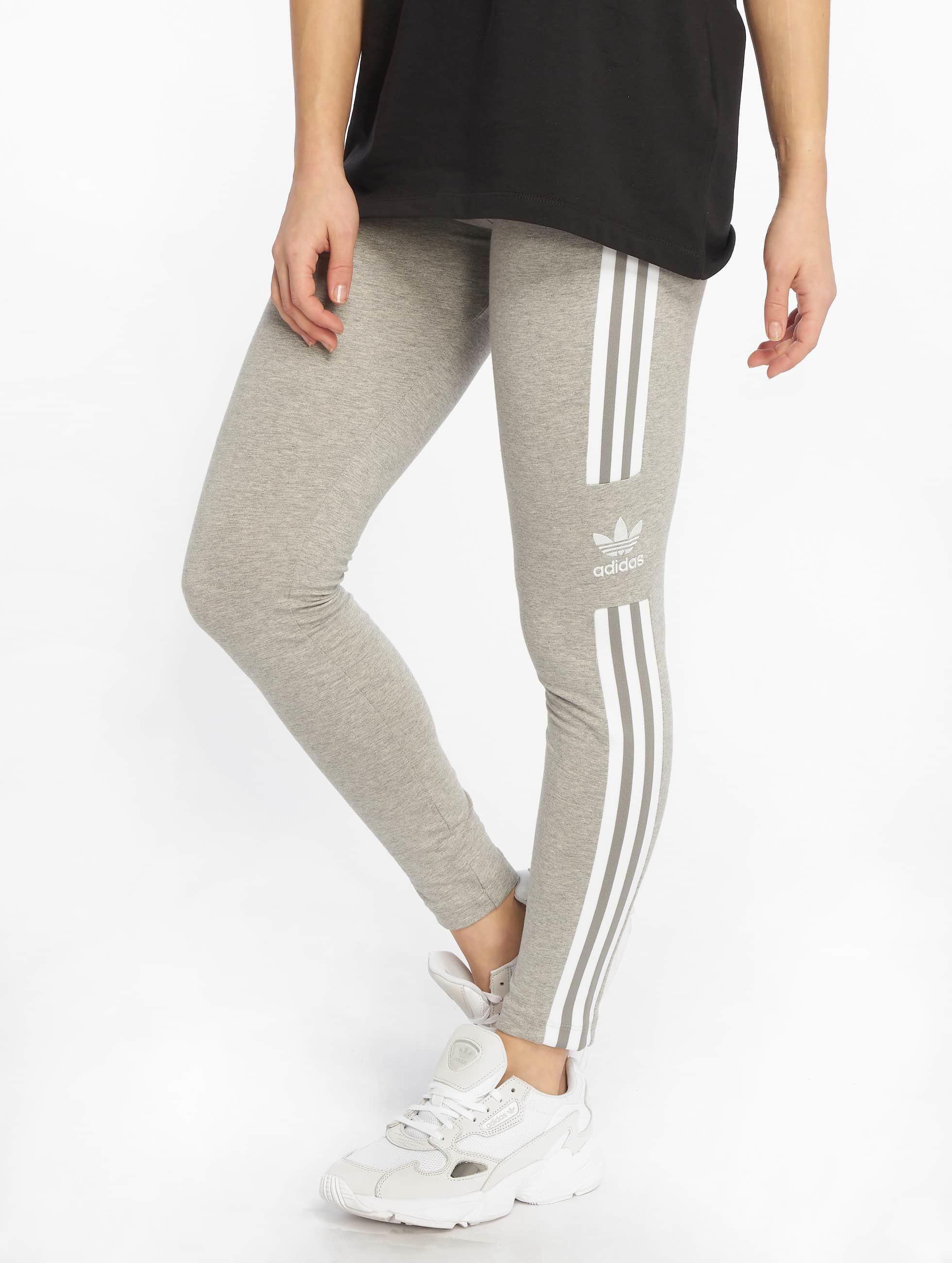 Adidas Originals Trefoil Leggings Medium Grey Heather