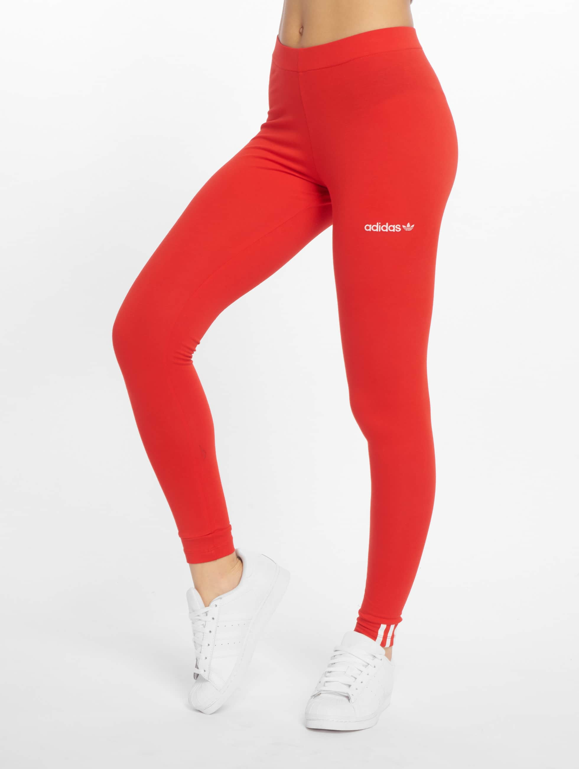 84301ae8139 adidas originals broek / Legging Coeeze in rood 599179