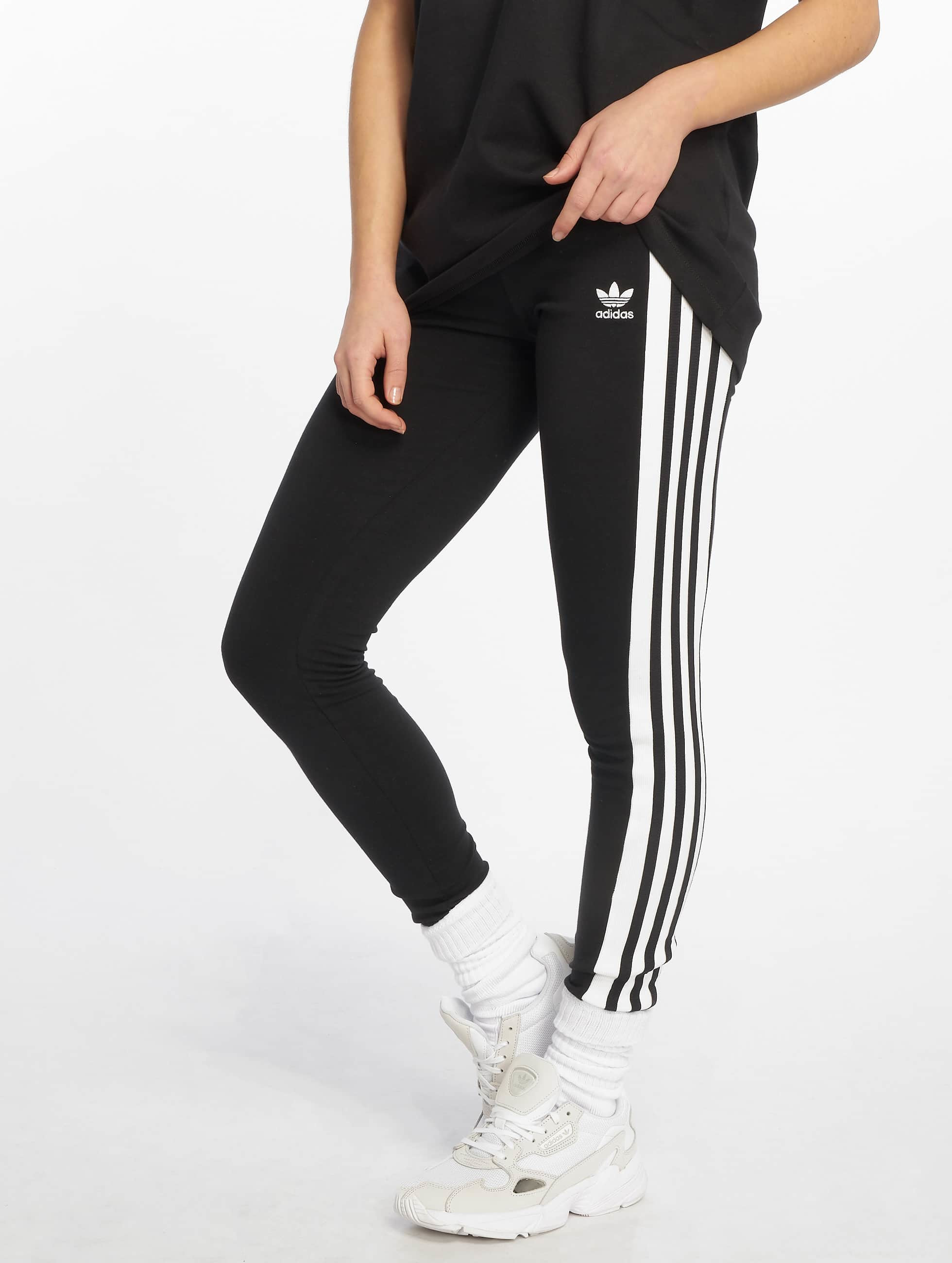94ab8dbdf7c adidas originals broek / Legging Classic in zwart 599028