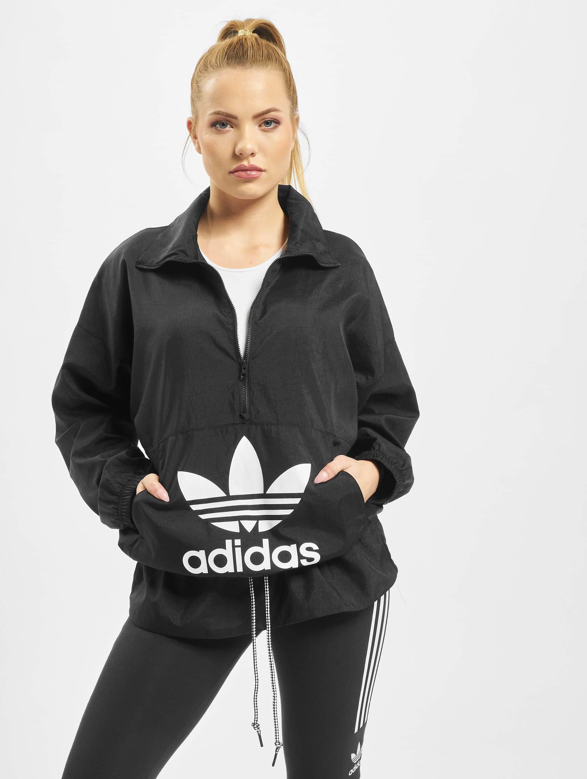 Adidas Originals Logo Windbreaker Black