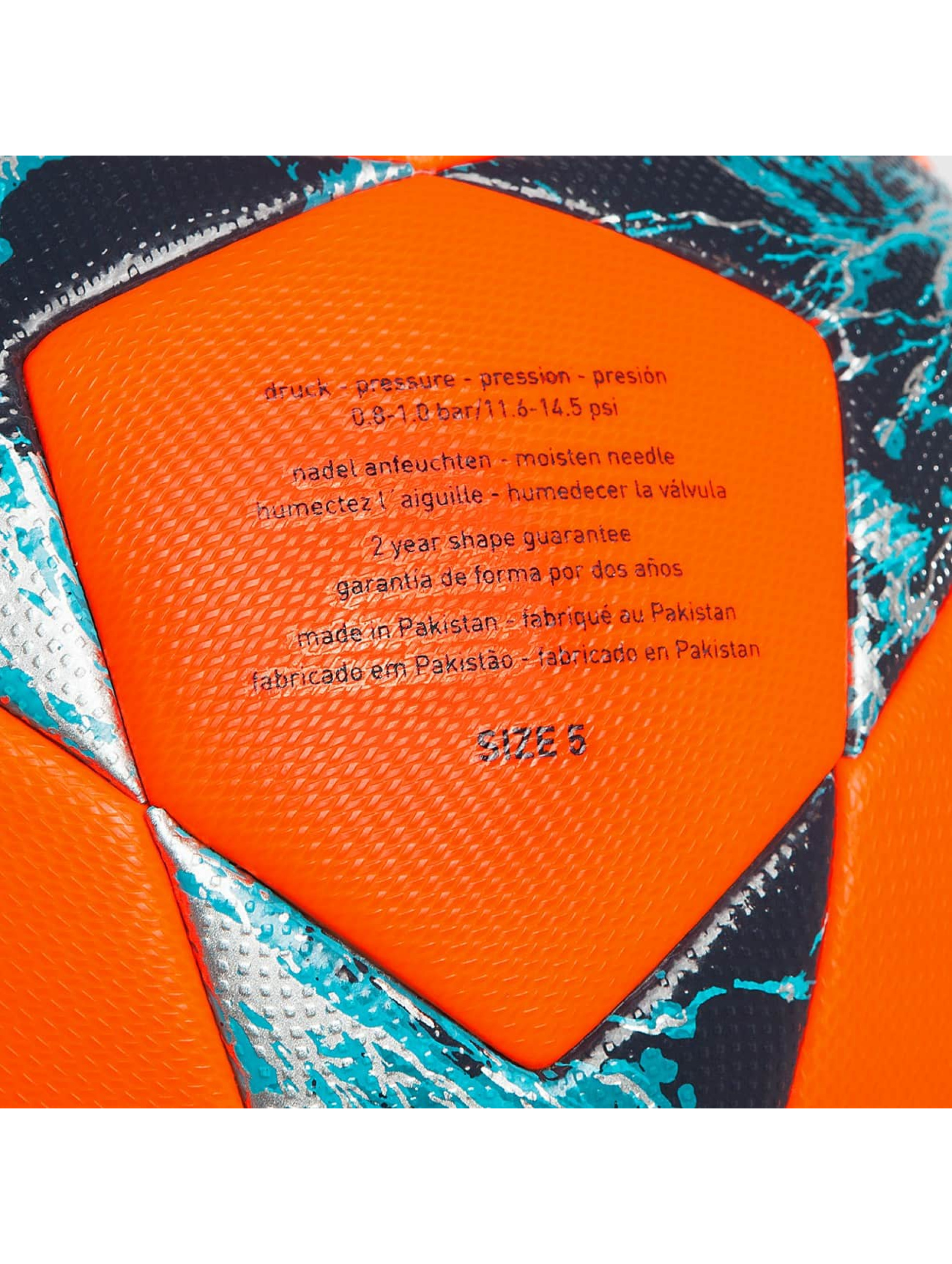 adidas originals Piłki Final 17 Offical Match pomaranczowy