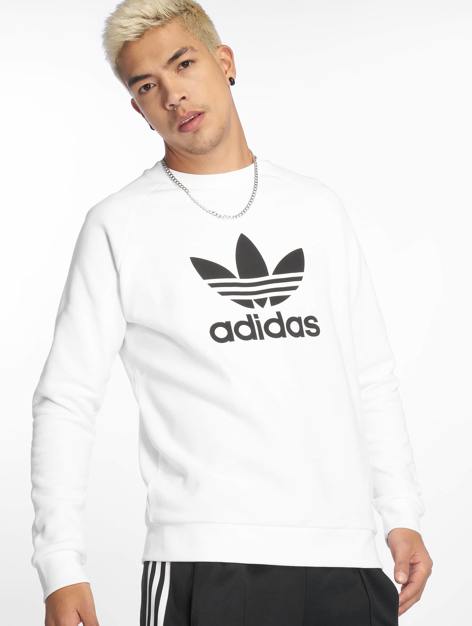 Adidas Originals Trefoil Sweatshirt White