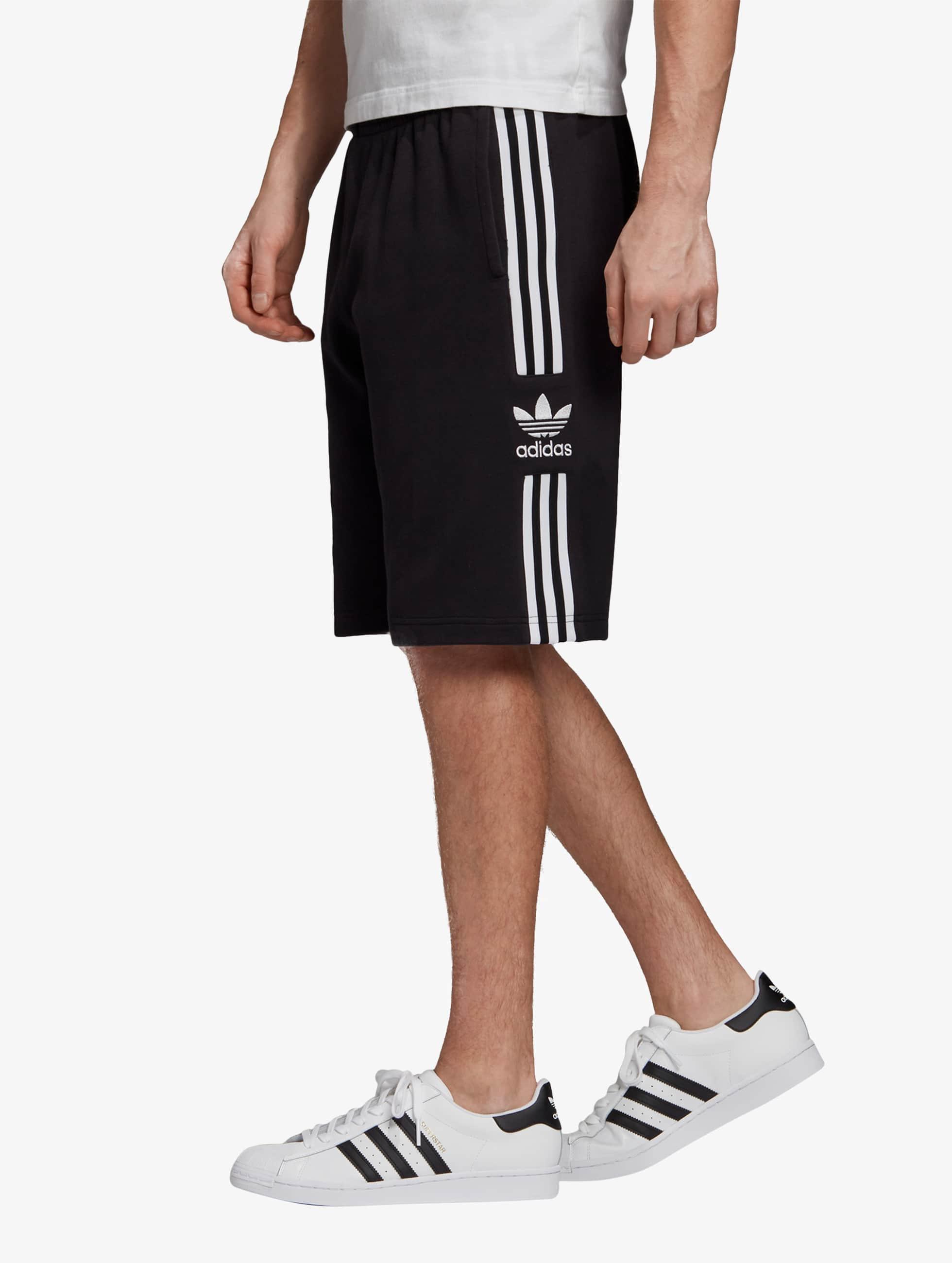adidas Originals Lockup Lng Shorts Black