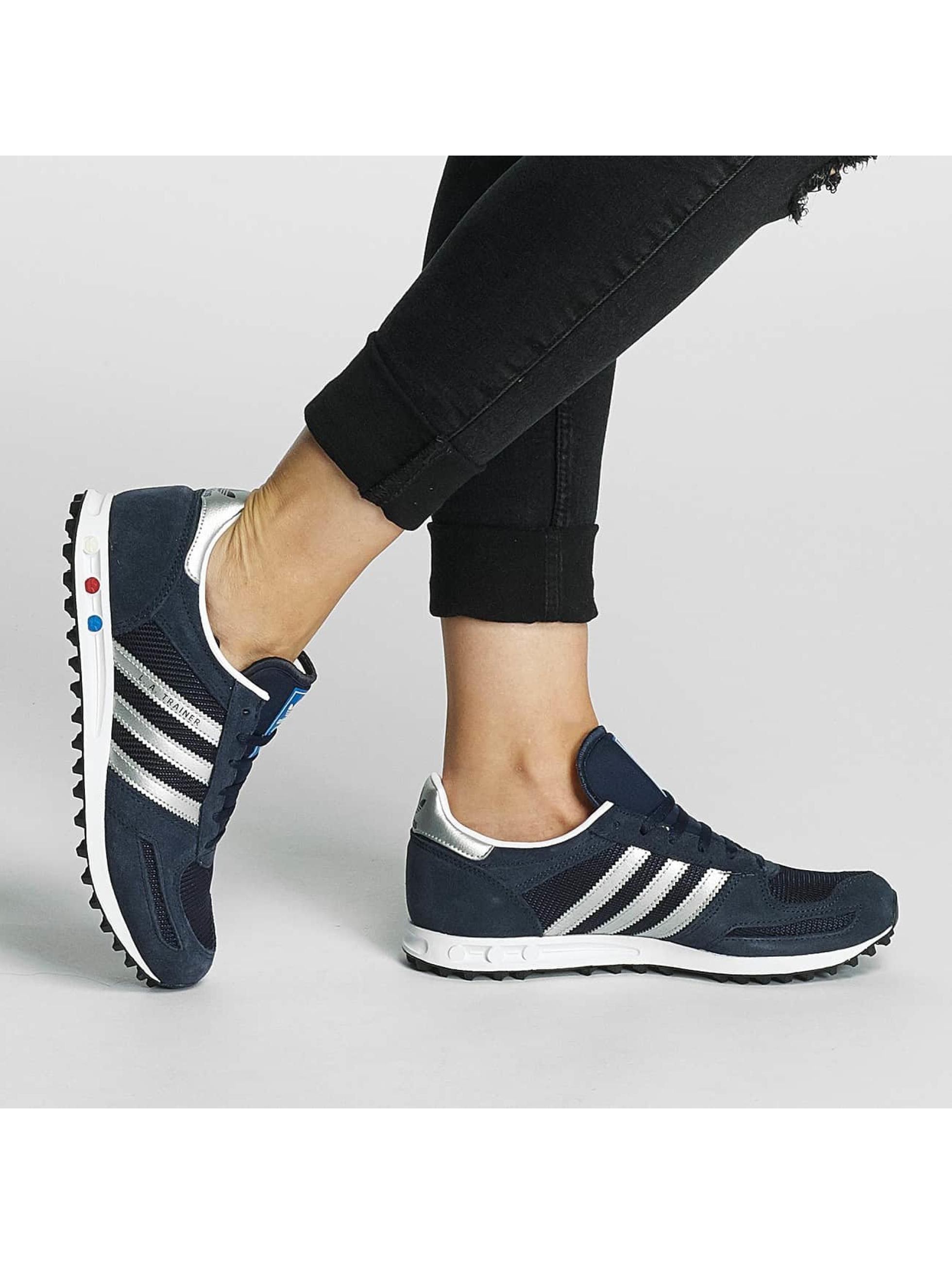 adidas originals sneaker LA Trainer J blauw