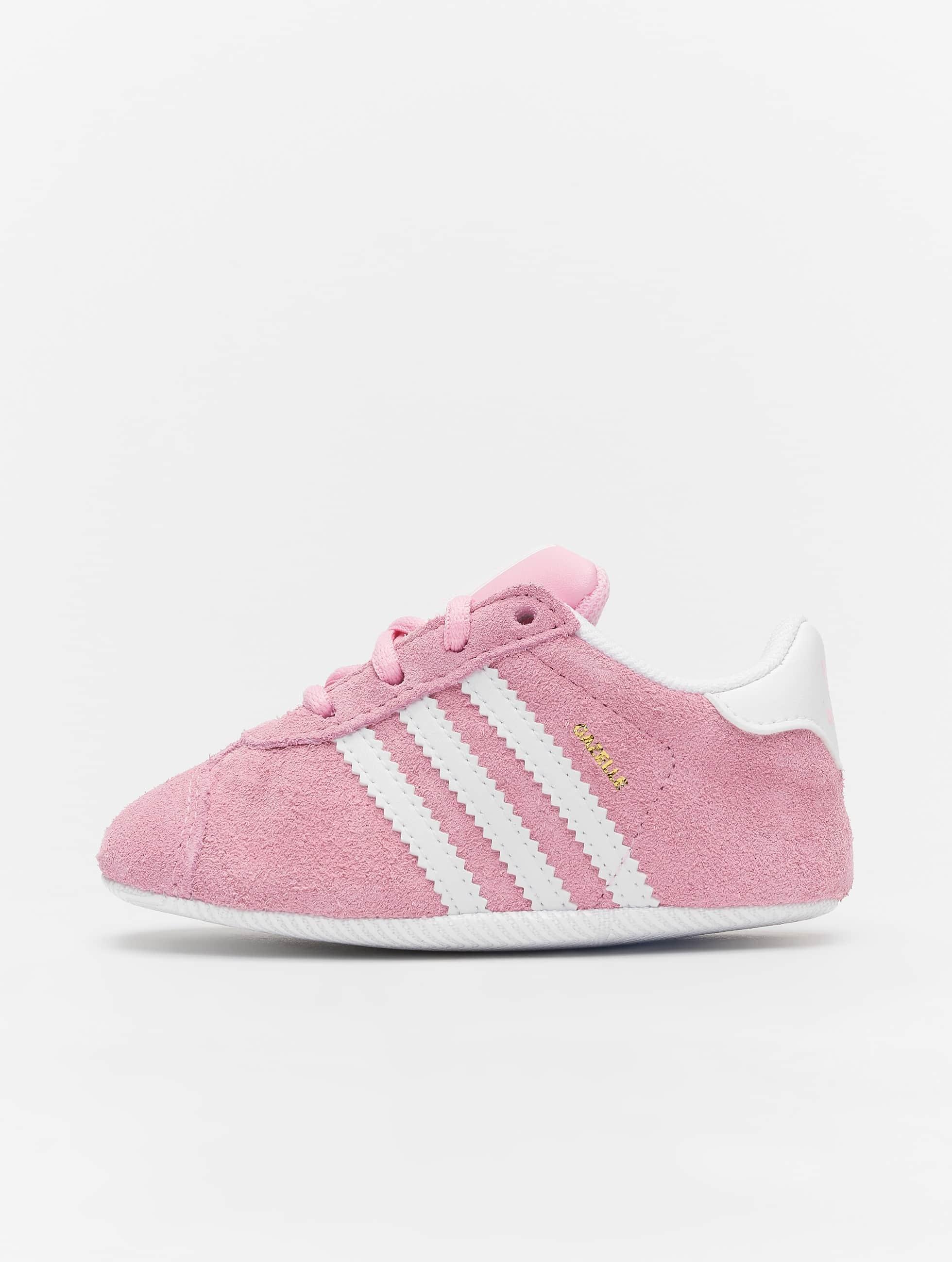 Adidas Originals Gazelle Crib Sneakers True Pink